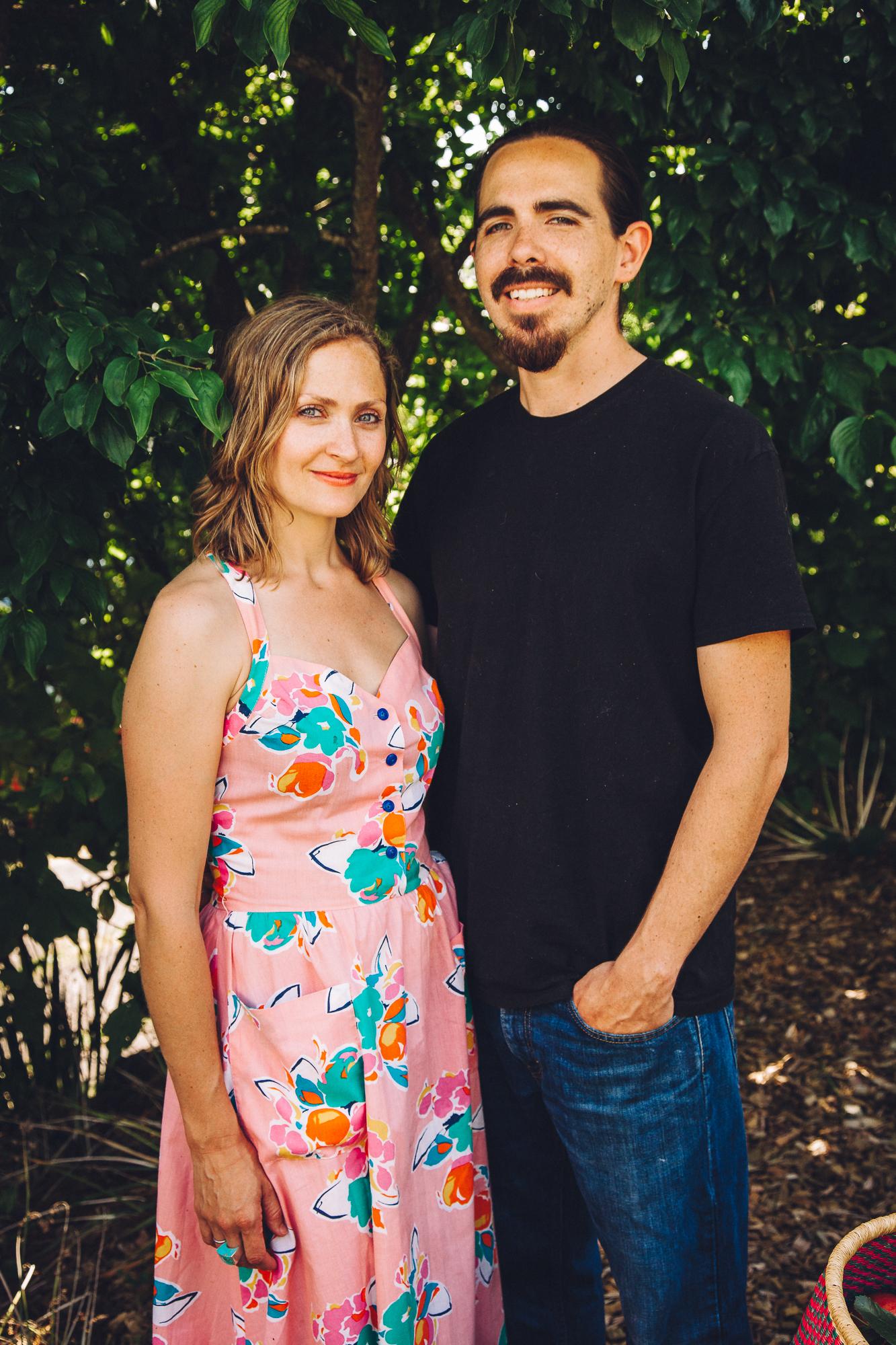 Team Bodegón: Erin and Chris Lally