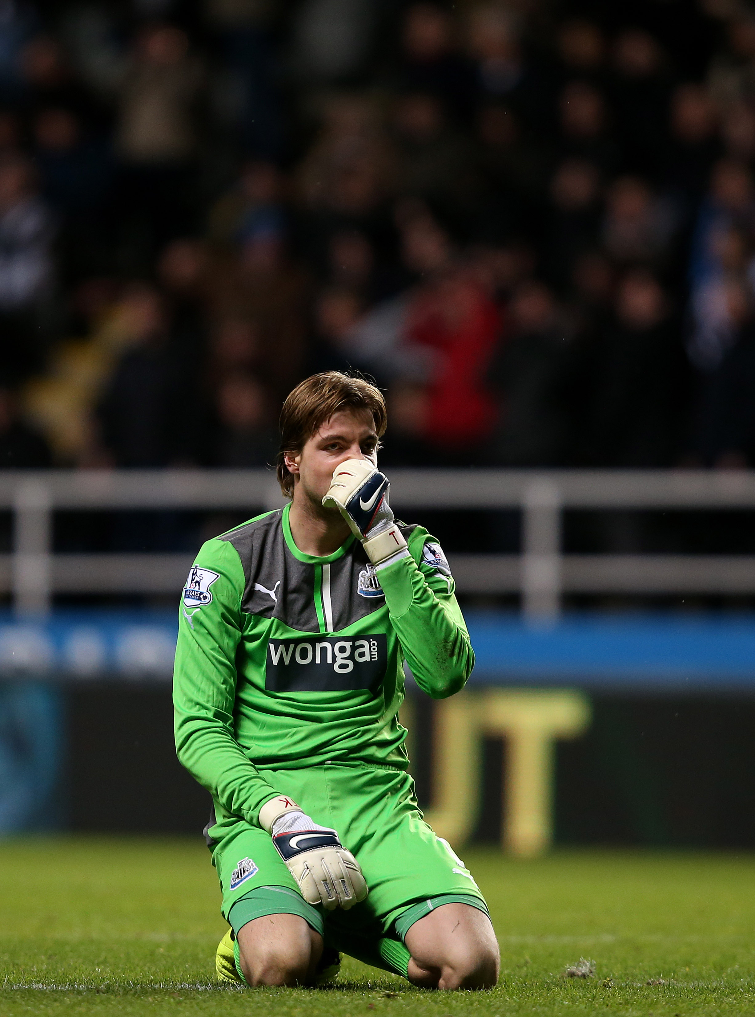 Even the man himself couldn't stand the smell of his goalkeeping.