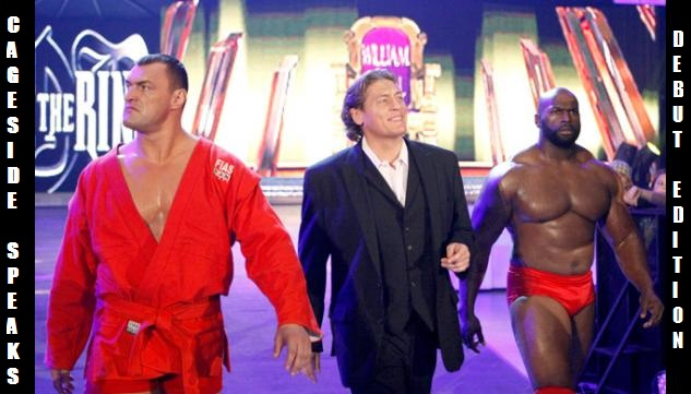 Until our official logo is done, we're content to roll with William Regal's Ruthless Roundtable as our avatar.