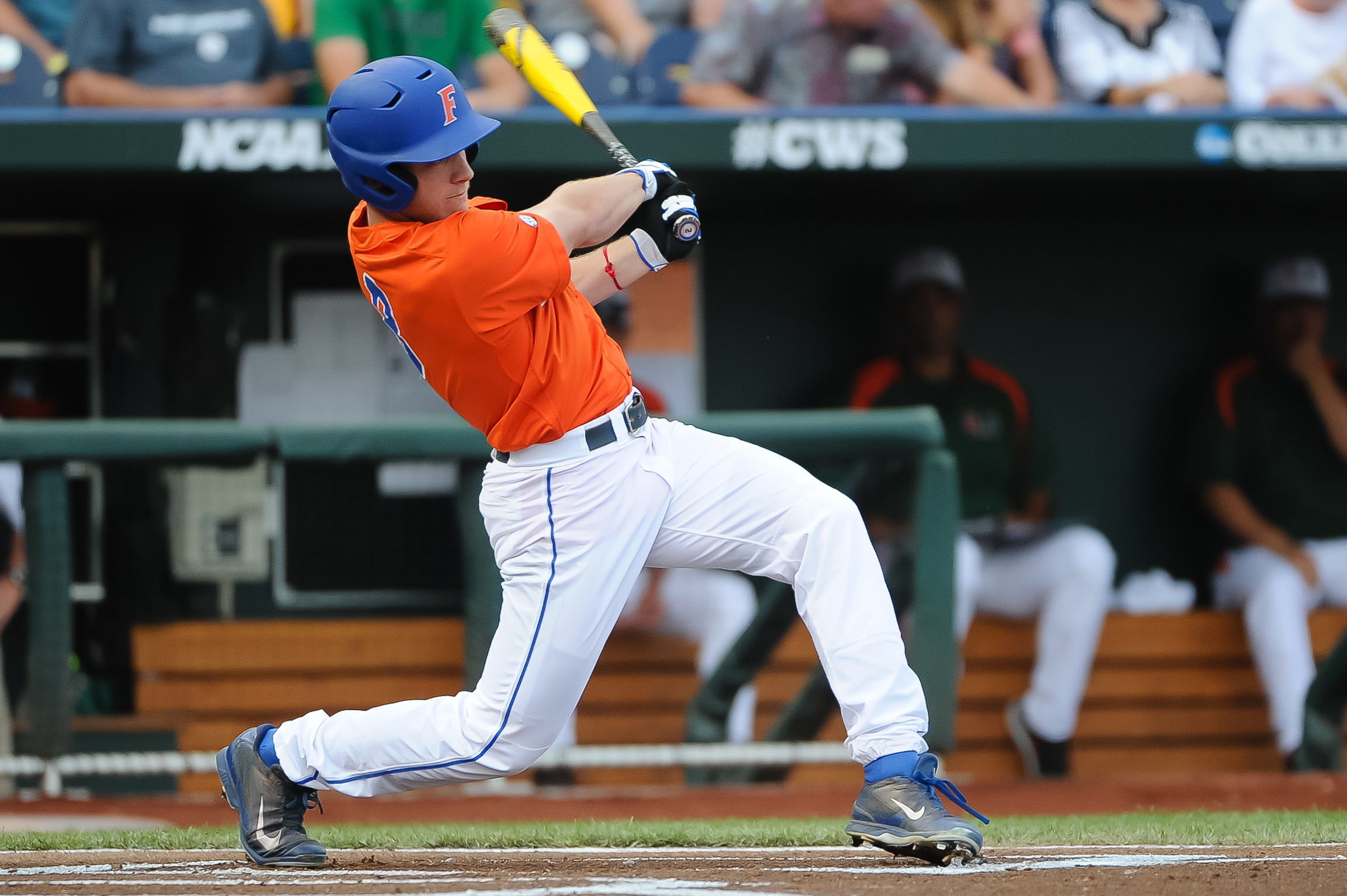 Florida outfielder Harrison Bader remains unsigned largely because of the Gators' College World Series run.