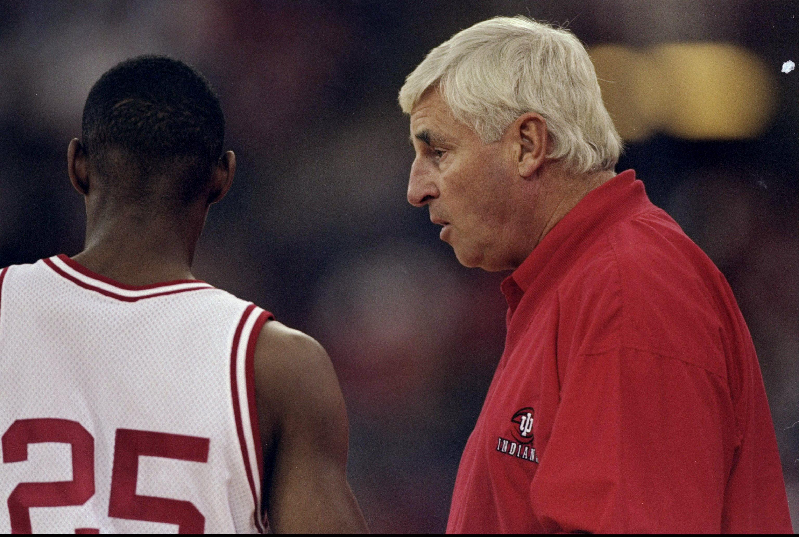 The greatest coach of the 70s, Indiana's Bobby Knight, the innovator of the motion offense