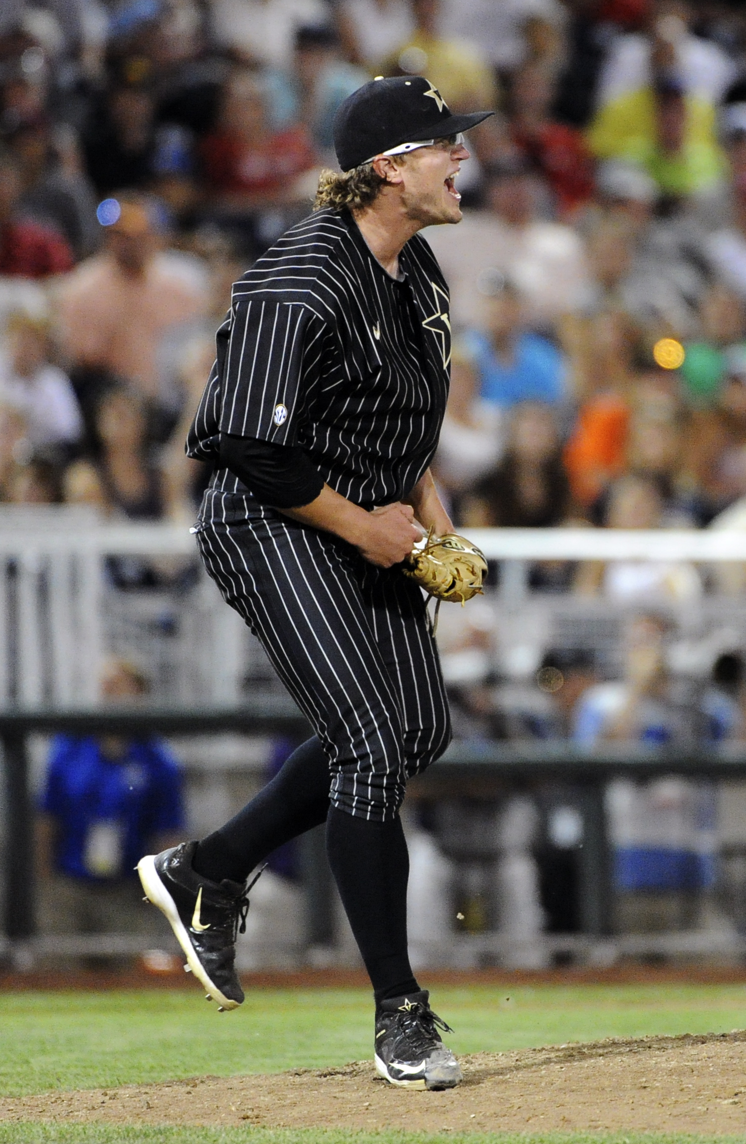 Carson Fulmer, screaming germs to death.