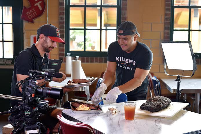 """Killen's Barbecue Behind the Scenes on """"Top 5 Restaurants"""""""