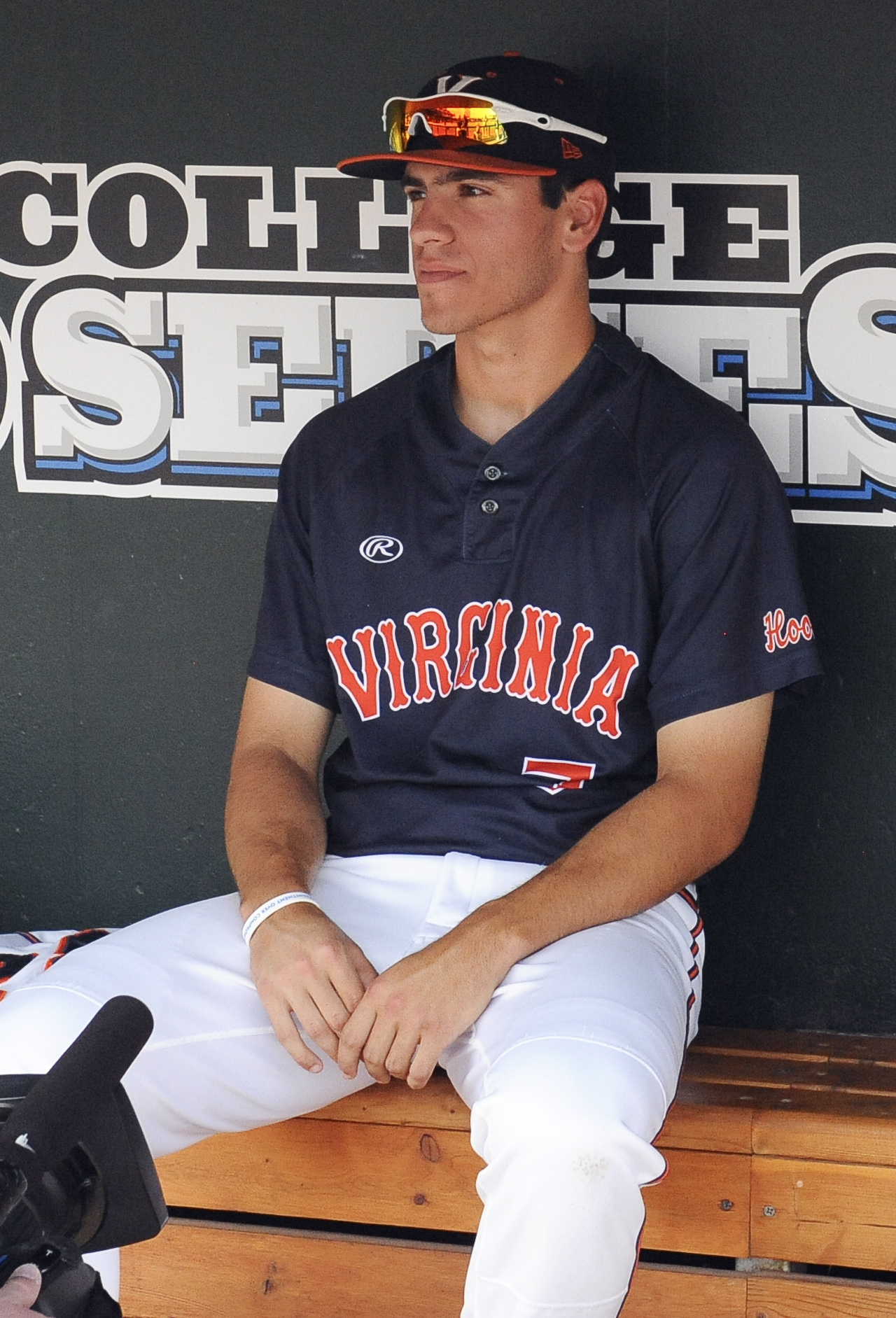 The face of Adam Haseley (pictured) when told he would be getting the ball tonight.