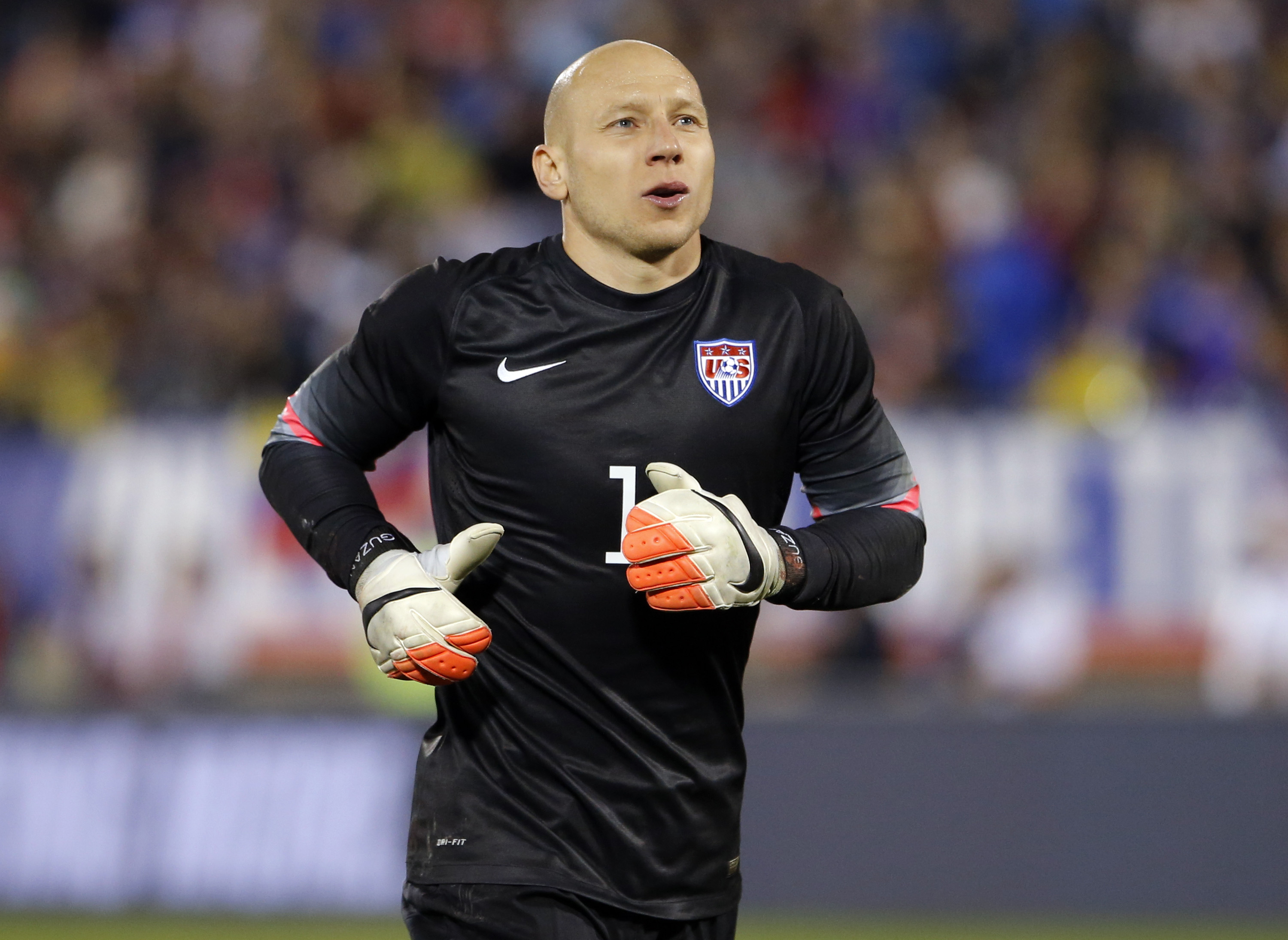 Guzan: Should be between the sticks for the USMNT.