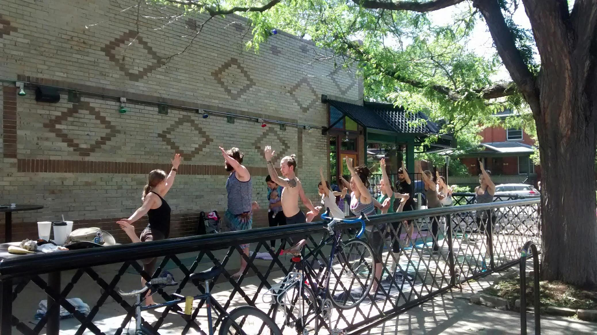 Yoga at Vine Street Pub & Brewery