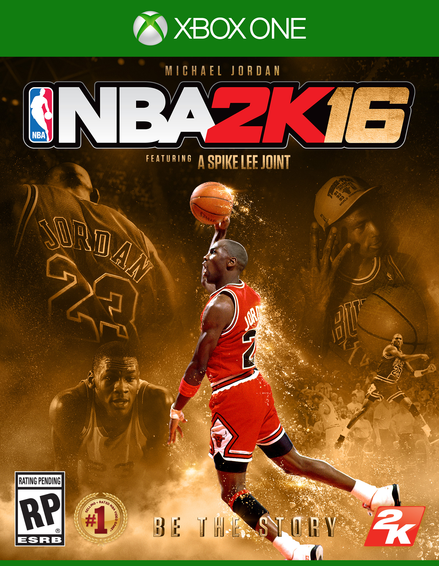 NBA 2K16 Special Edition brings back Michael Jordan on the cover