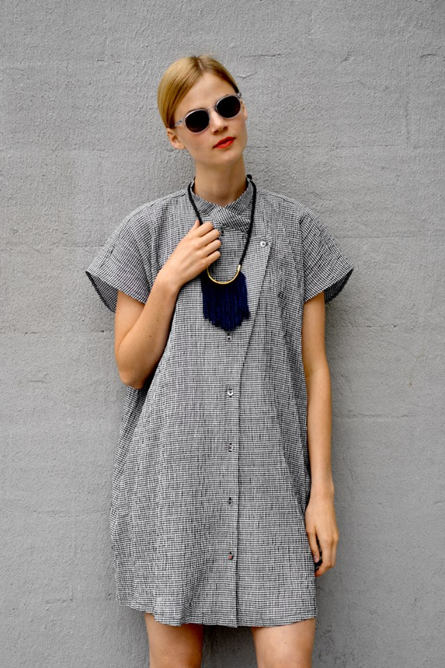 """Marisa cotton gingham dress, <a href=""""http://shopbird.com/product.php?productid=32117&cat=808&manufacturerid=&page=1"""">$295</a>"""