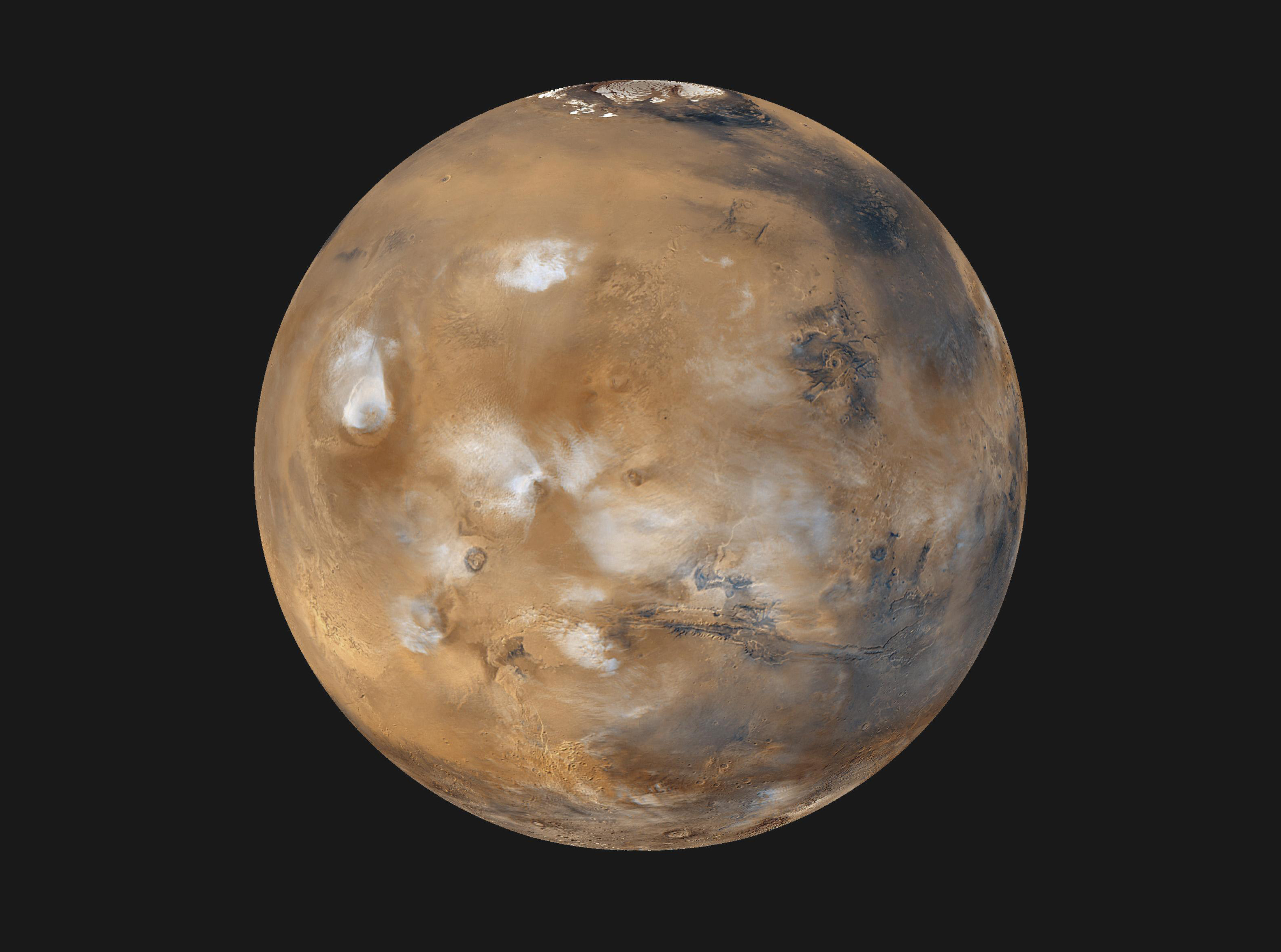 NASA wants suggestions for where to land humans on Mars