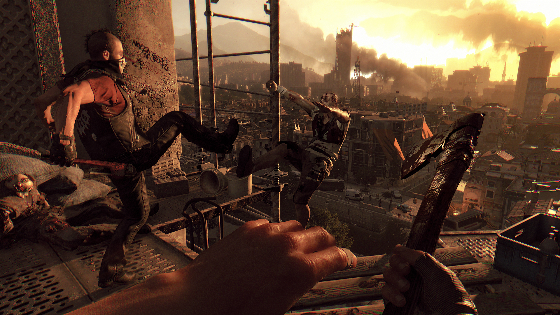 Dying Light devs double down on mocking Destiny Red Bull promo with DLC campaign