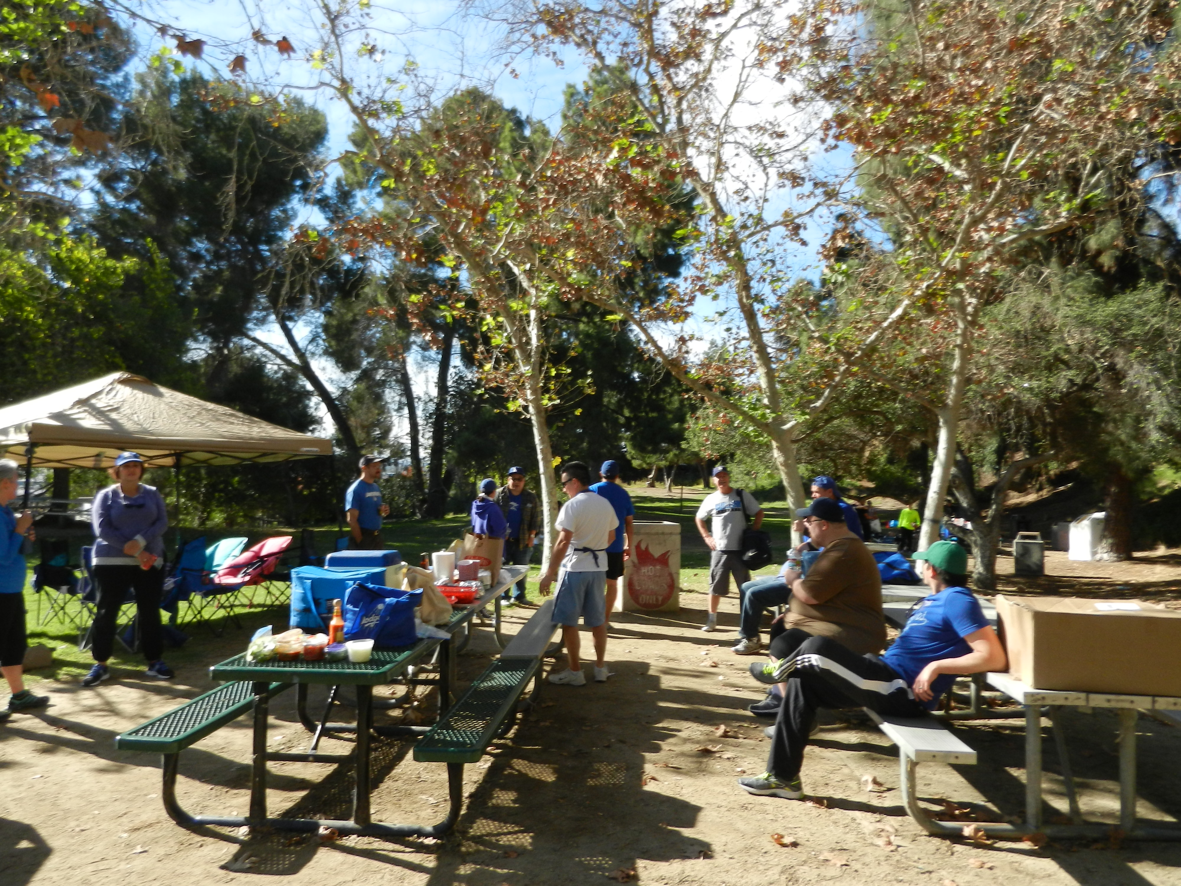 TBLA picnics always rock with food and good times!