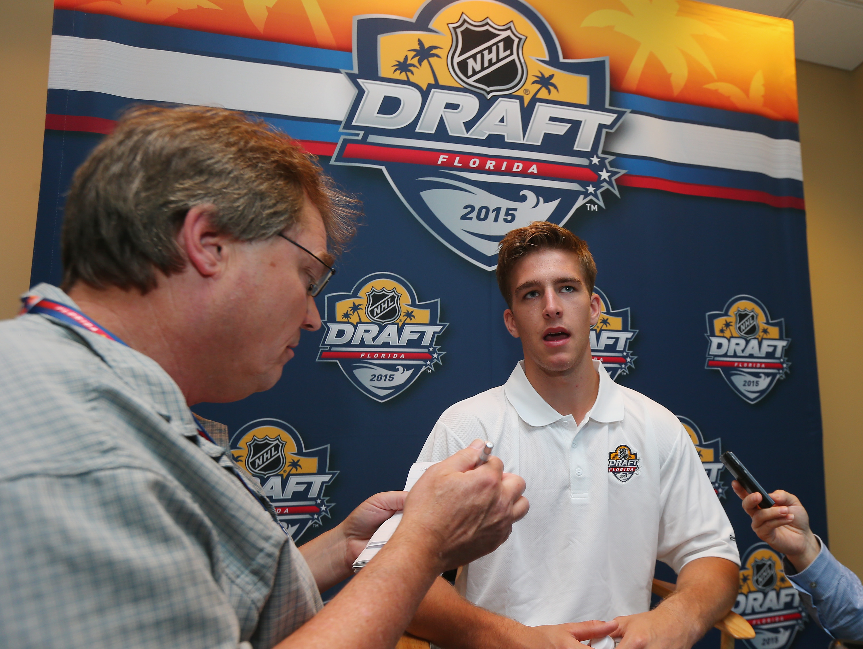 Noah Hanifin had his day on Friday night. It's everyone else's on Saturday morning for the second through seventh rounds of the 2015 NHL Draft.