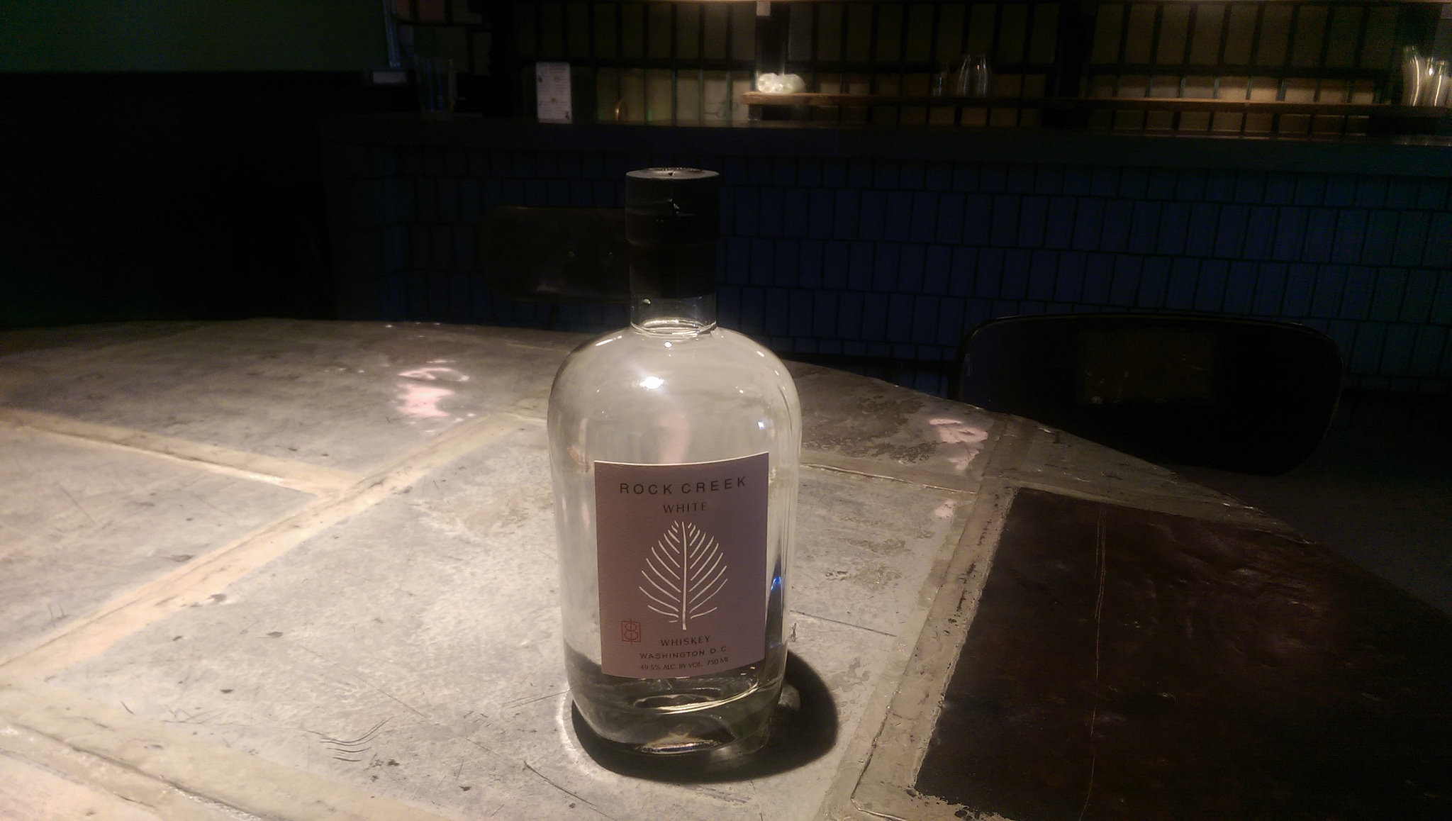 Rock Creek White Whiskey