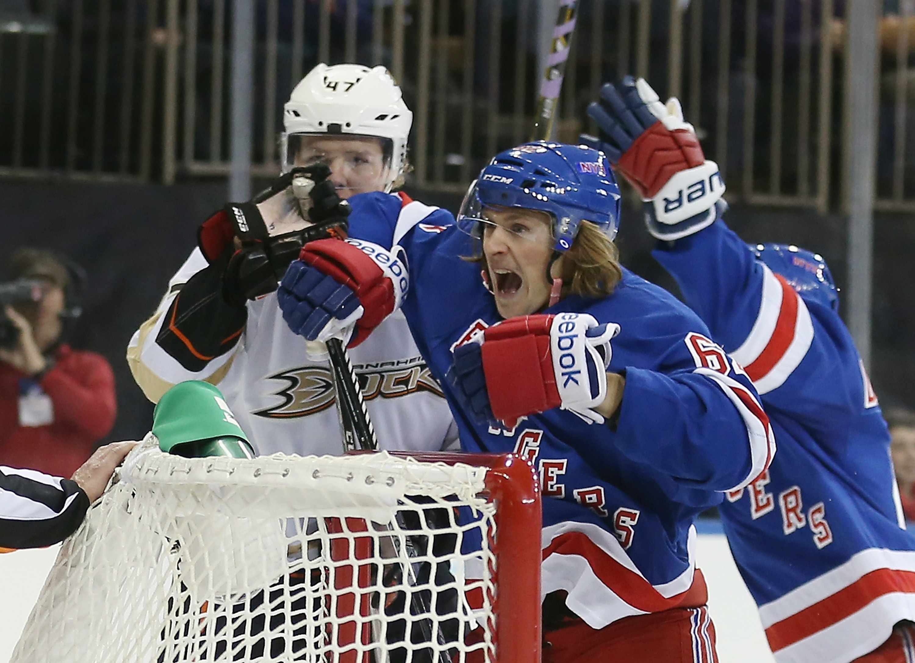 Carl Hagelin and Hampus Lindholm will be celebrating the same goals next season.