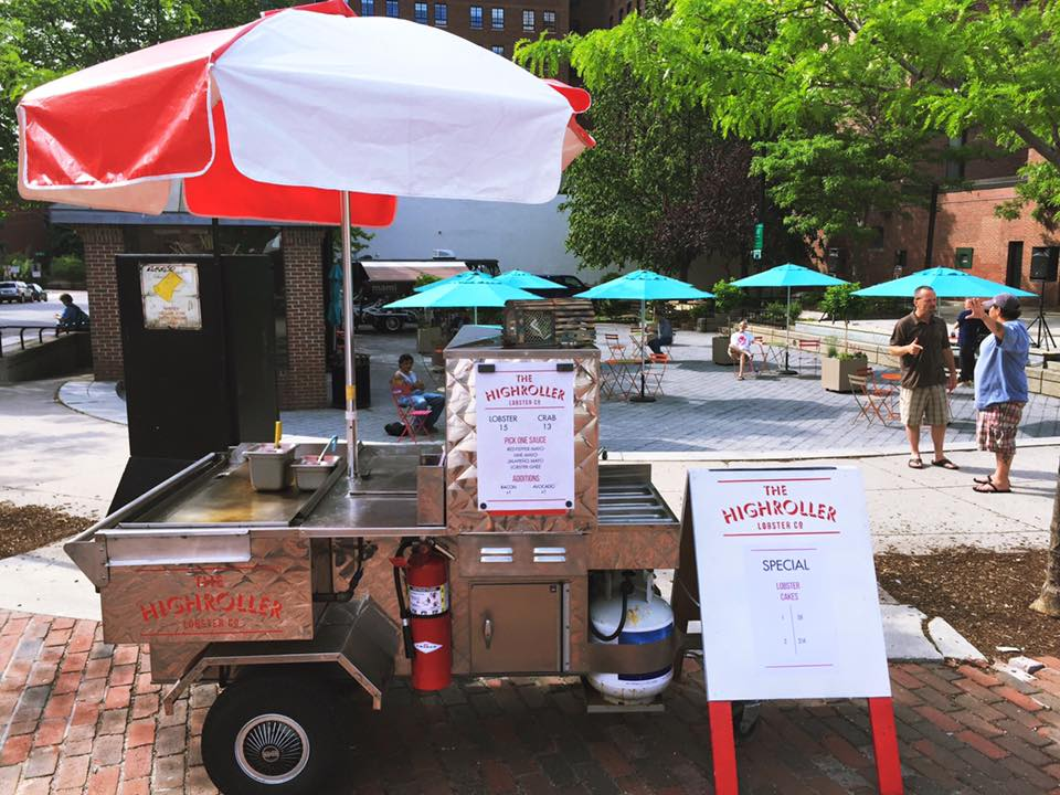The High Roller Food Truck Portland Maine