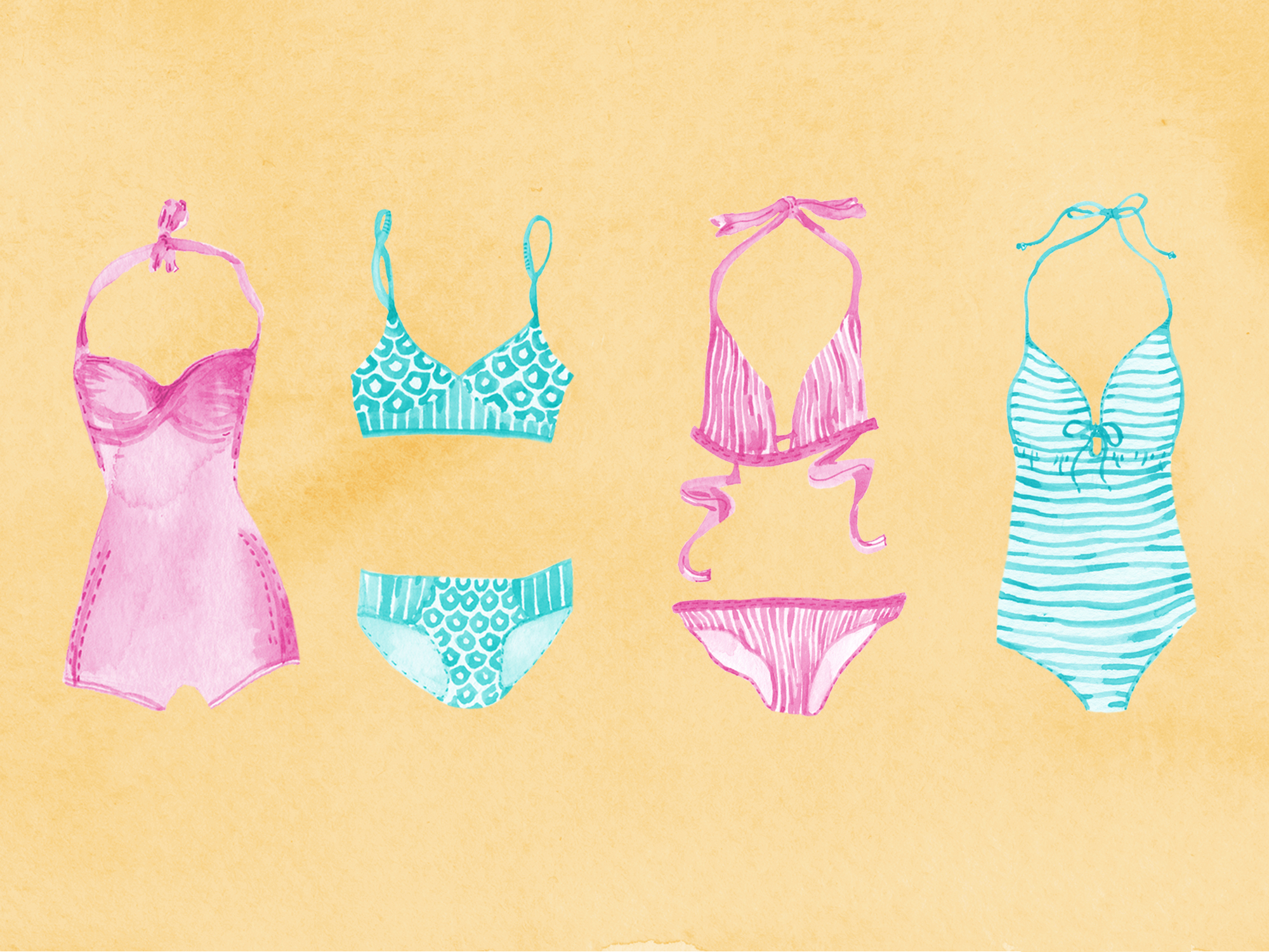 How to Not Ruin Your Bathing Suits This Summer