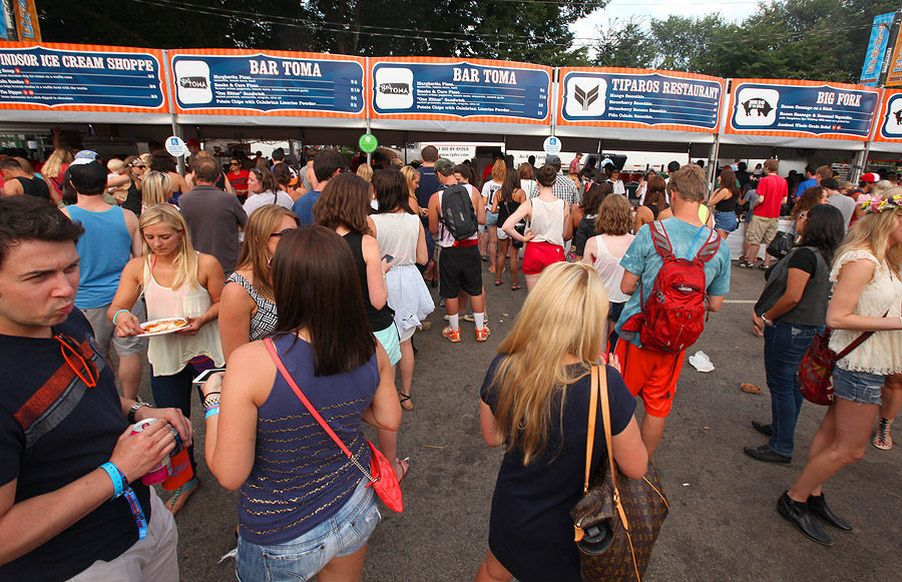 Lollapalooza's Chow Town