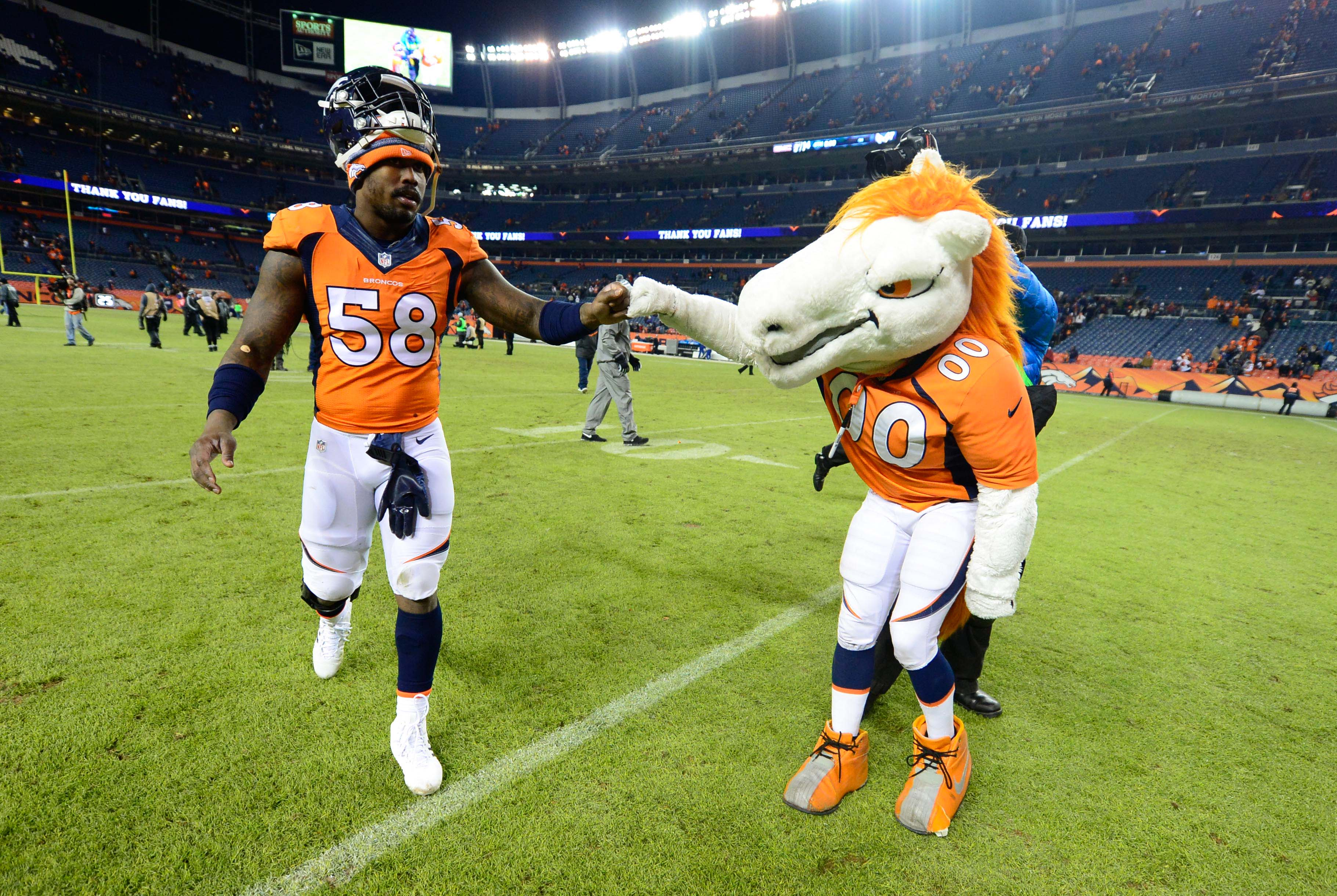 A fist bump dedicated to long-time Mile High Report contributor Bronco Mike who left us all too soon this past week.