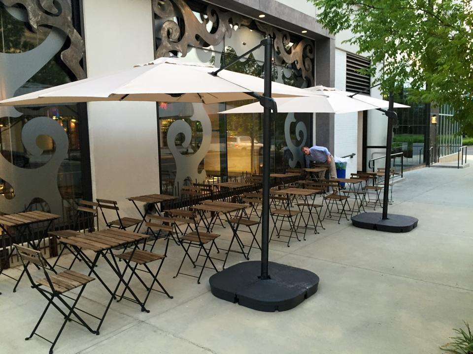 Gypsy Soul's patio