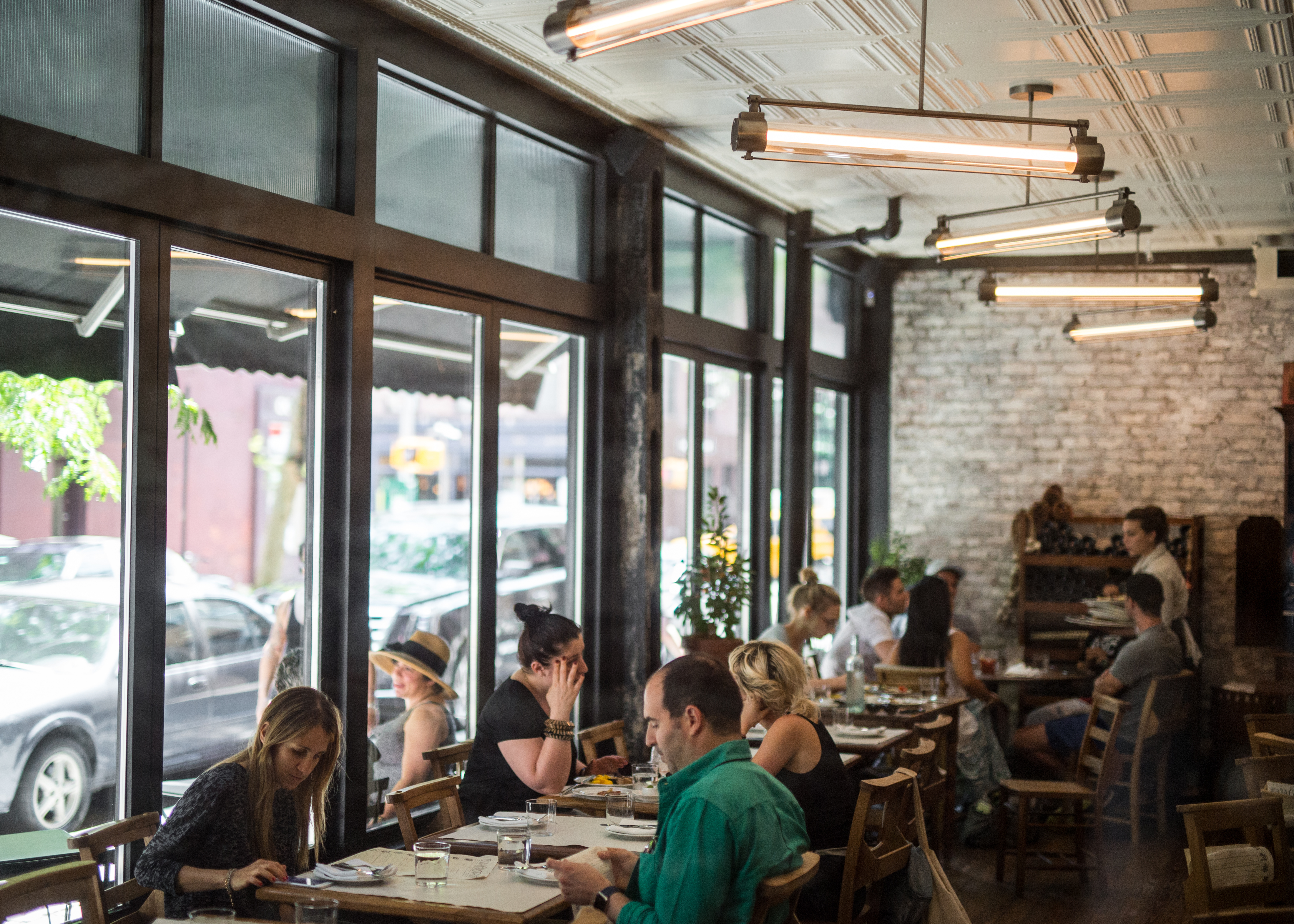 [Via Carota in the West Village, a fine place for dinner or lunch this weekend.]