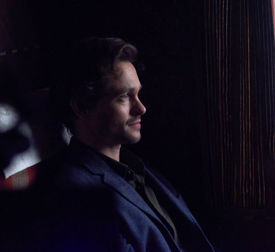 Will (Hugh Dancy) sometimes feels like he's trapped in a show consisting entirely of exposition on this season of Hannibal.