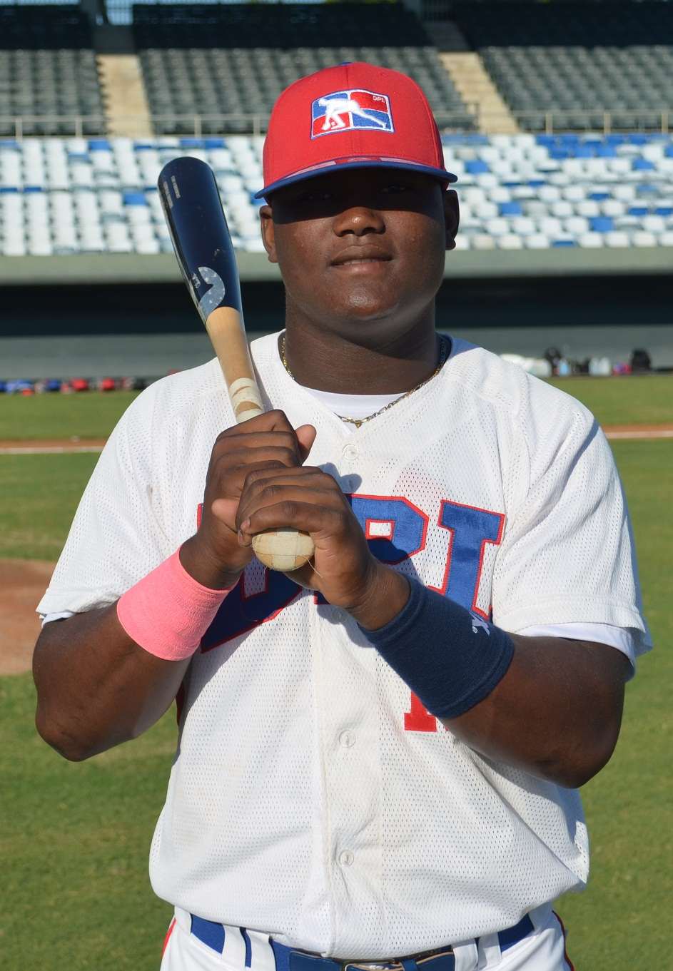 Josh Byrnes compared Starling Heredia, aka The Pitbull, to Kirby Puckett in body size.