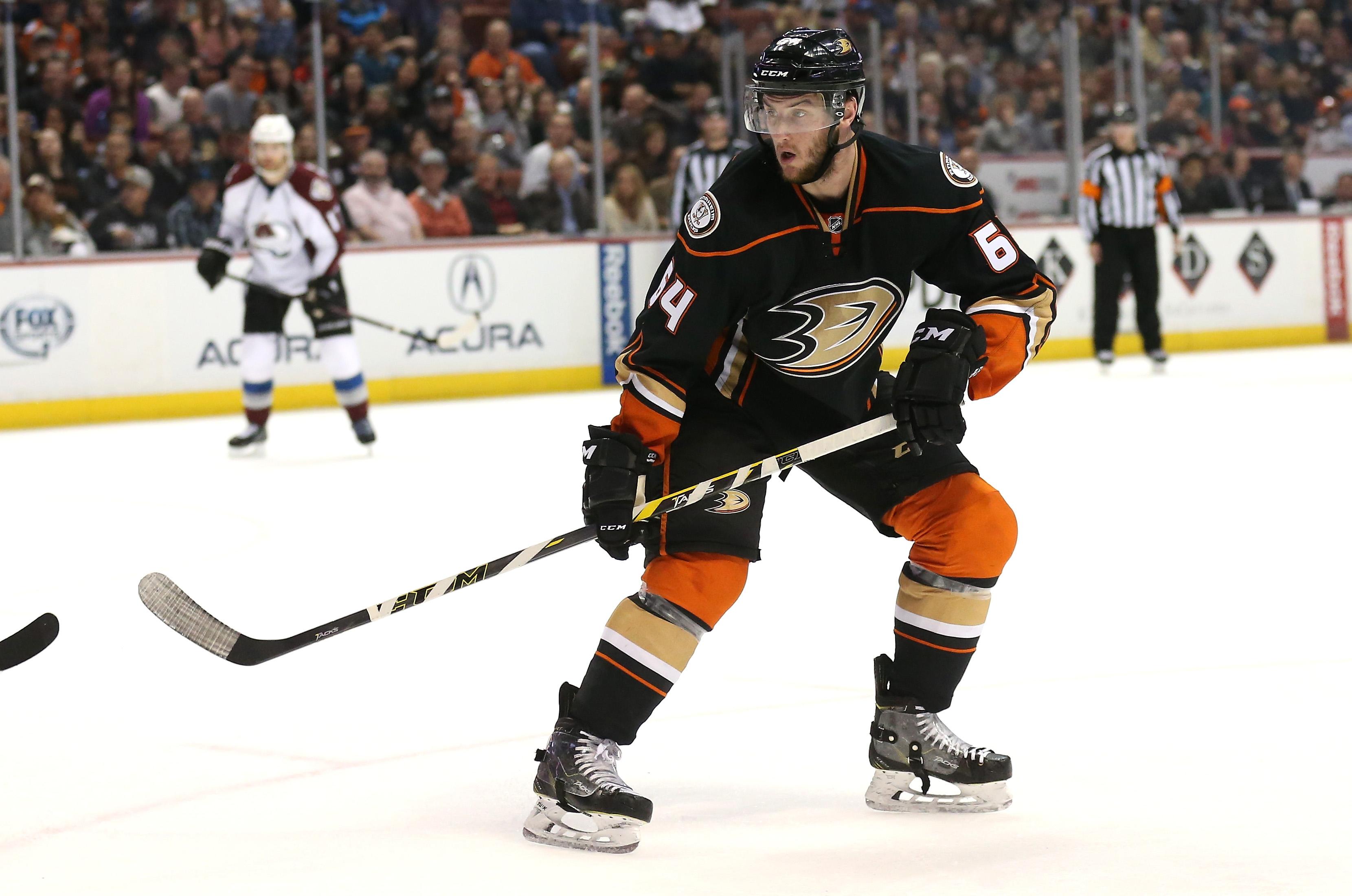 Stefan Noesen Makes His NHL Debut on April 3, 2015