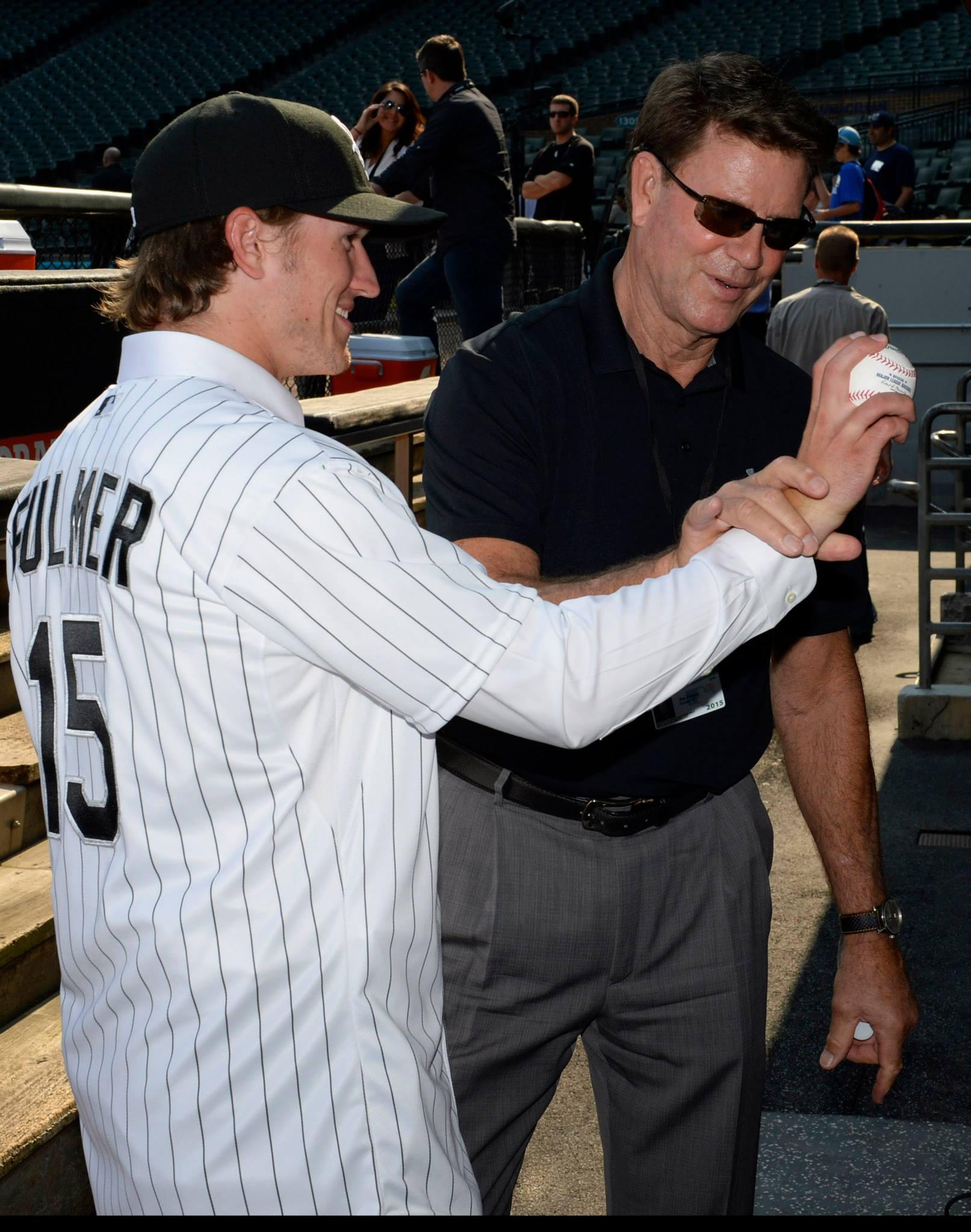 Carson Fulmer with Jim Palmer