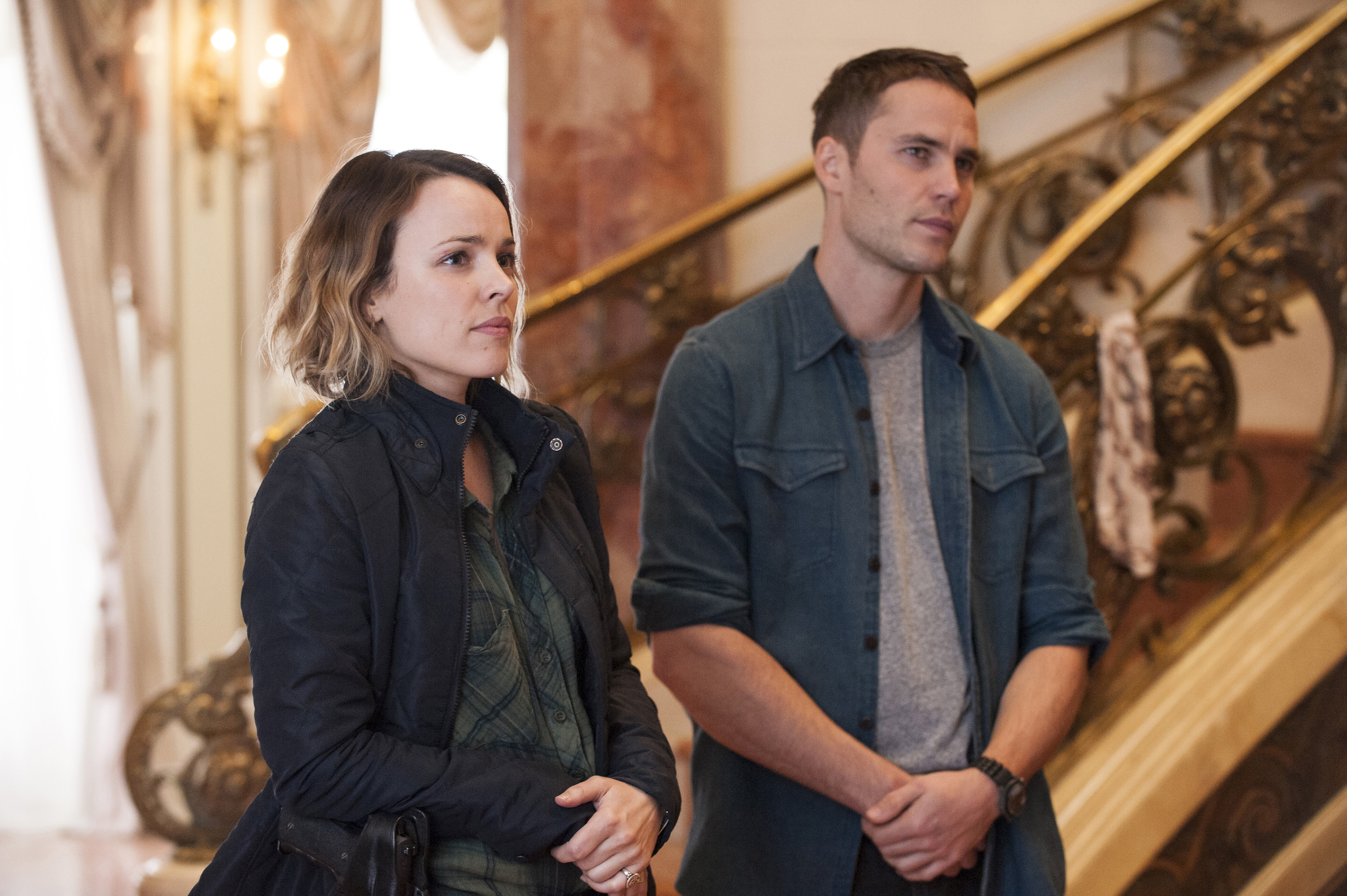 Rachel McAdams and Taylor Kitsch aren't quite sure how to process their emotional reactions to this episode.