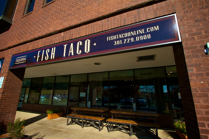 Fish taco eater dc for Fish taco bethesda md