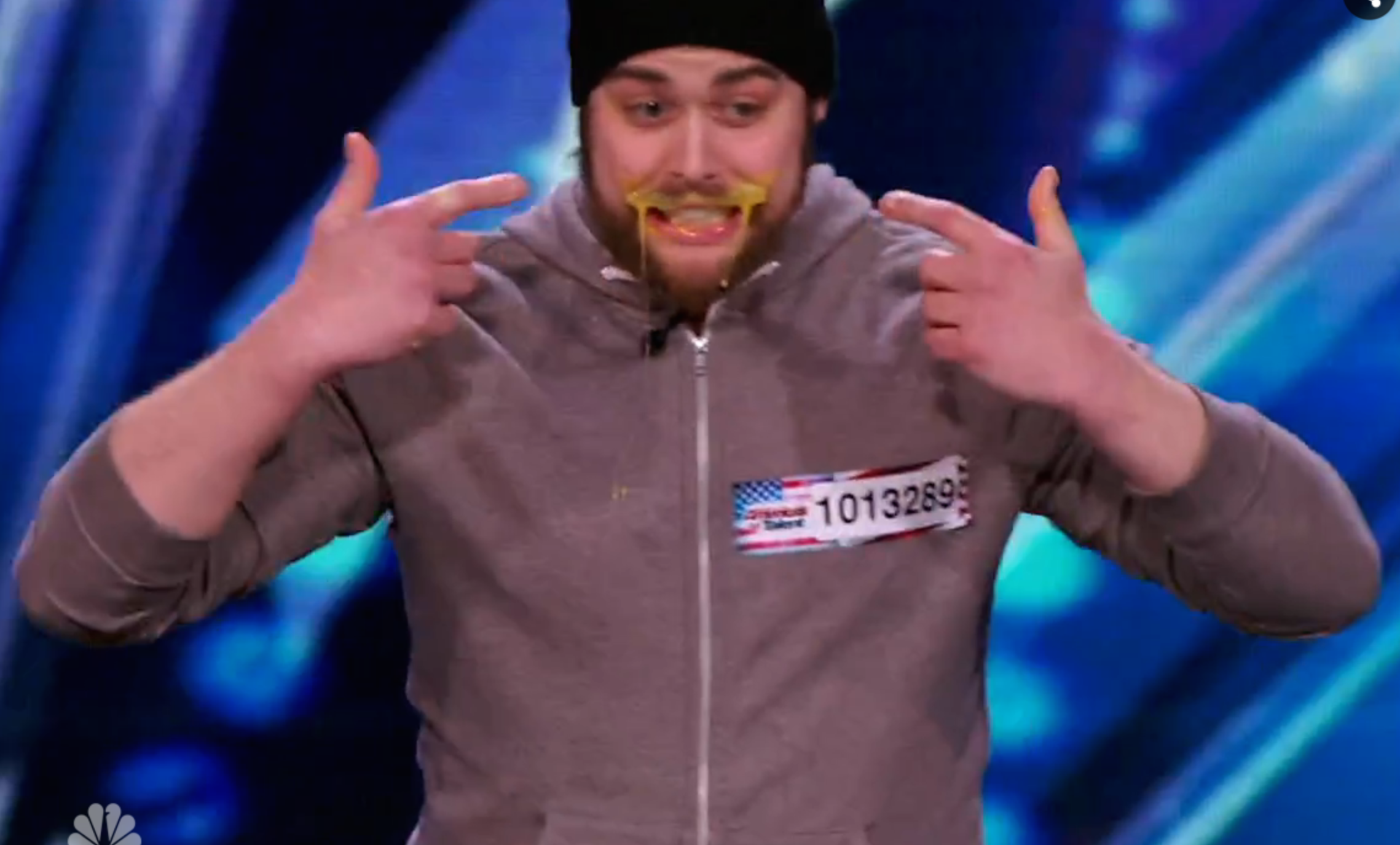 "Taco In A Bag's Patrick Bertoletti on ""America's Got Talent"""