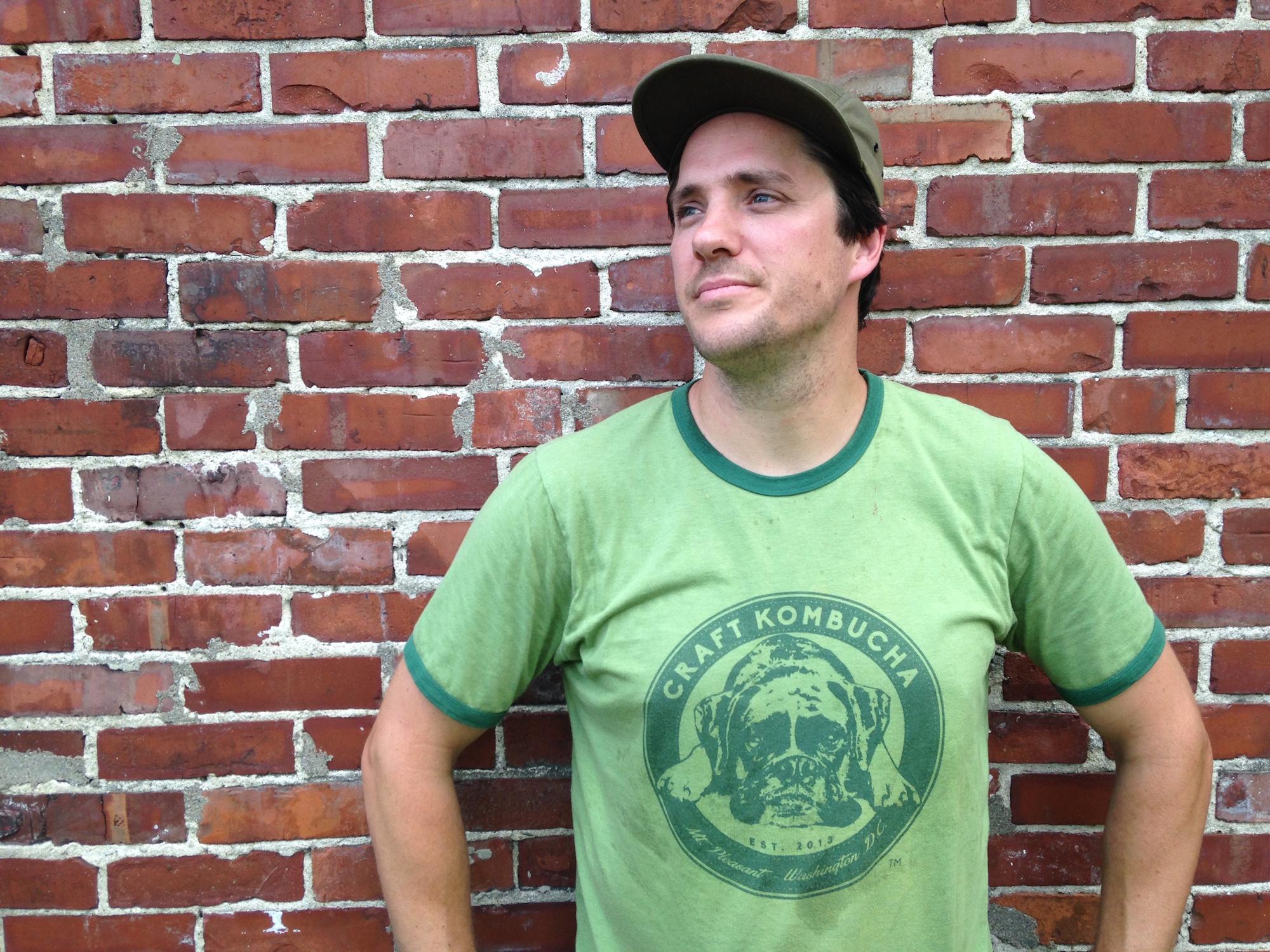 Reid Emmerich, kombucha brewer.