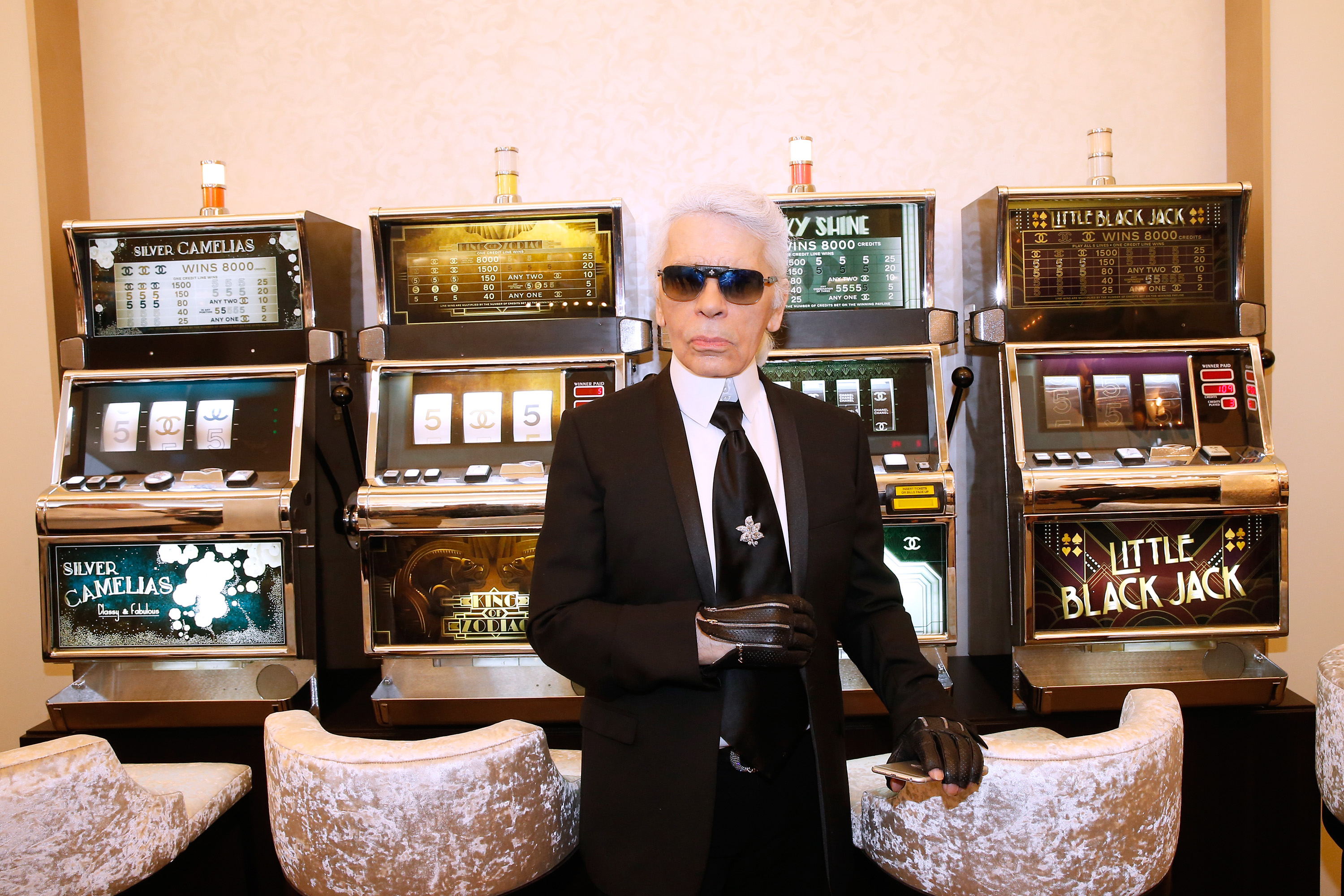 Lagerfeld at Chanel Haute Couture