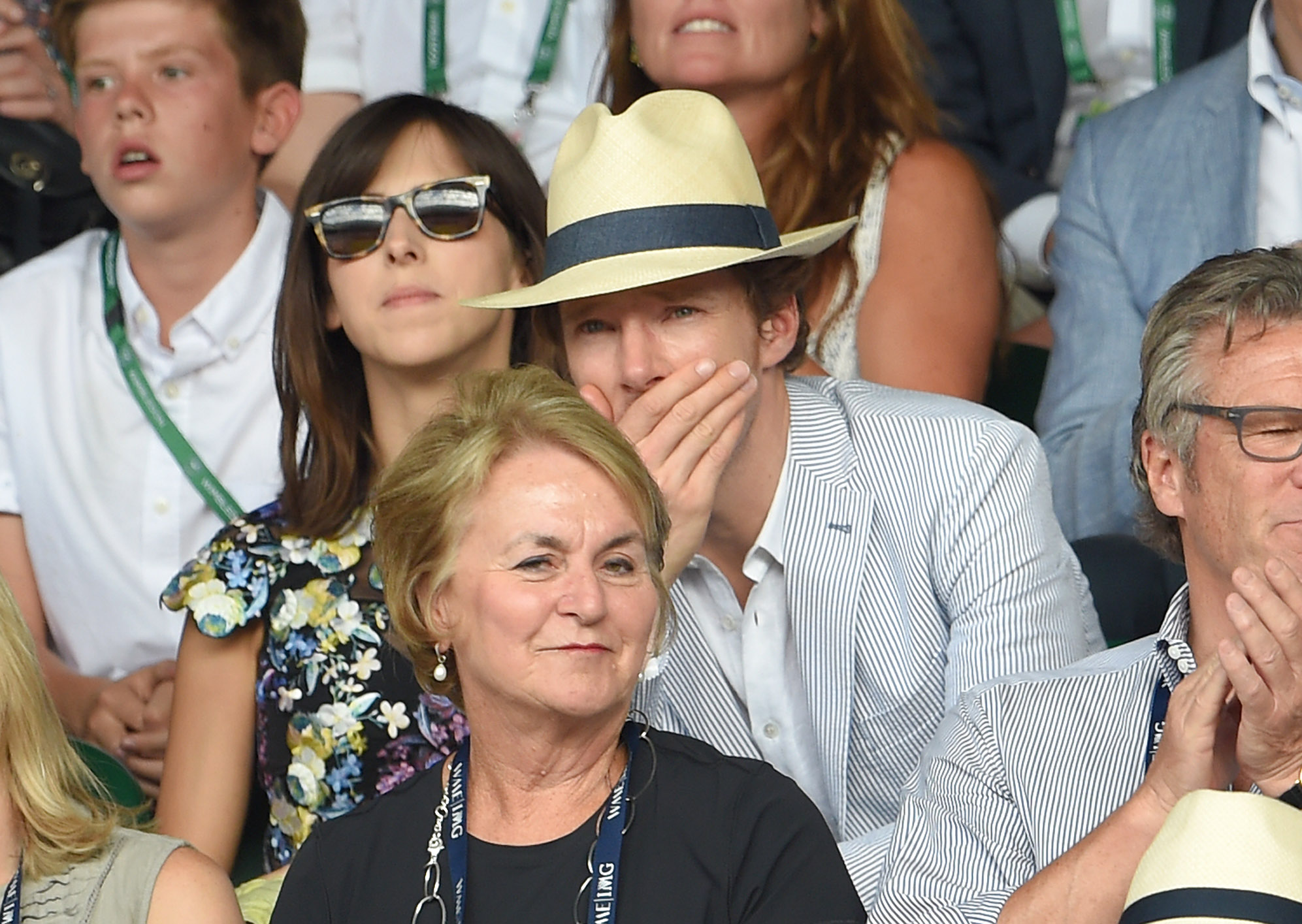 Tennis: Something Benedict Cumberbatch Cares Deeply About