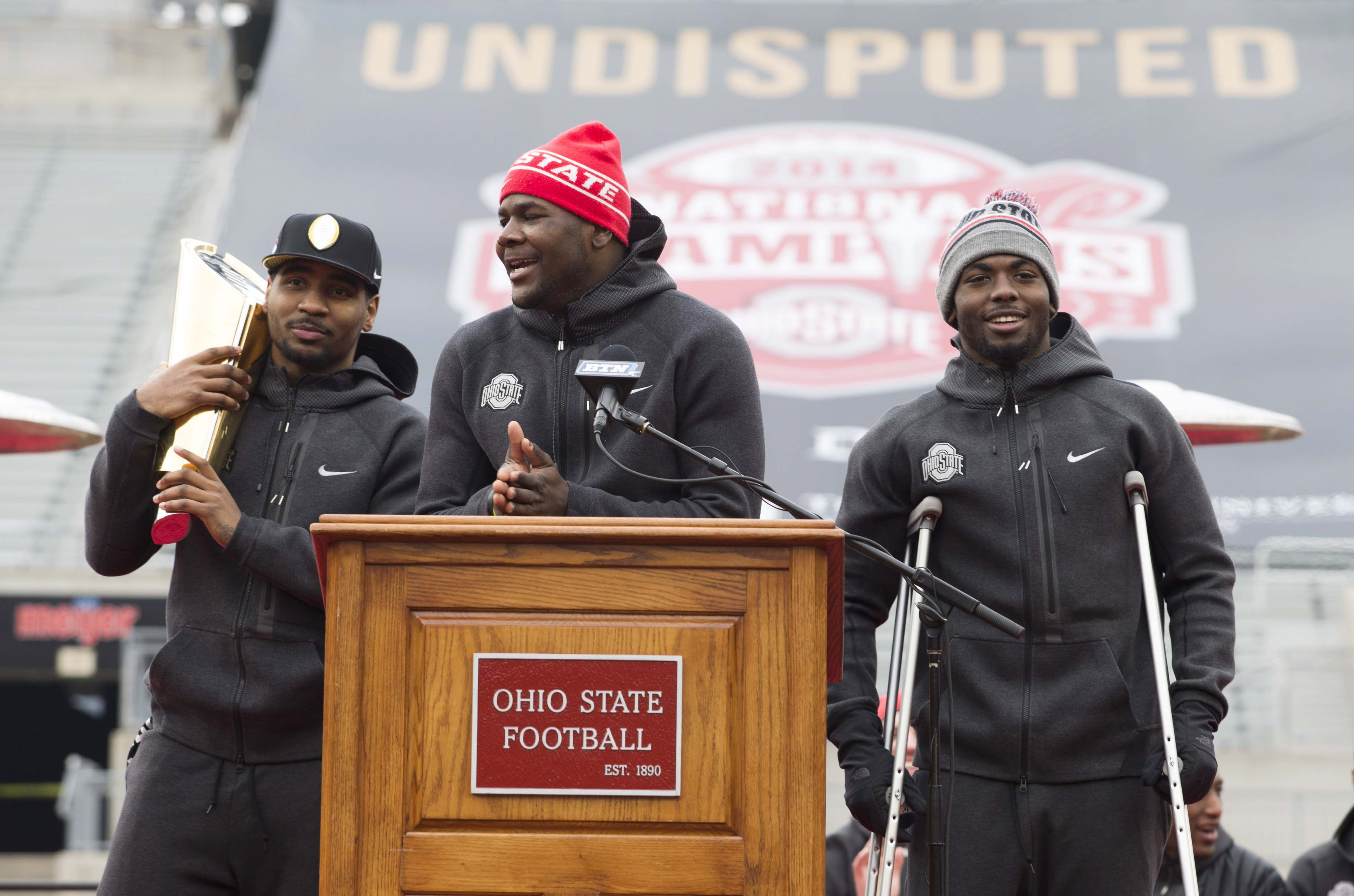 One of these guys will start for Ohio State.......maybe