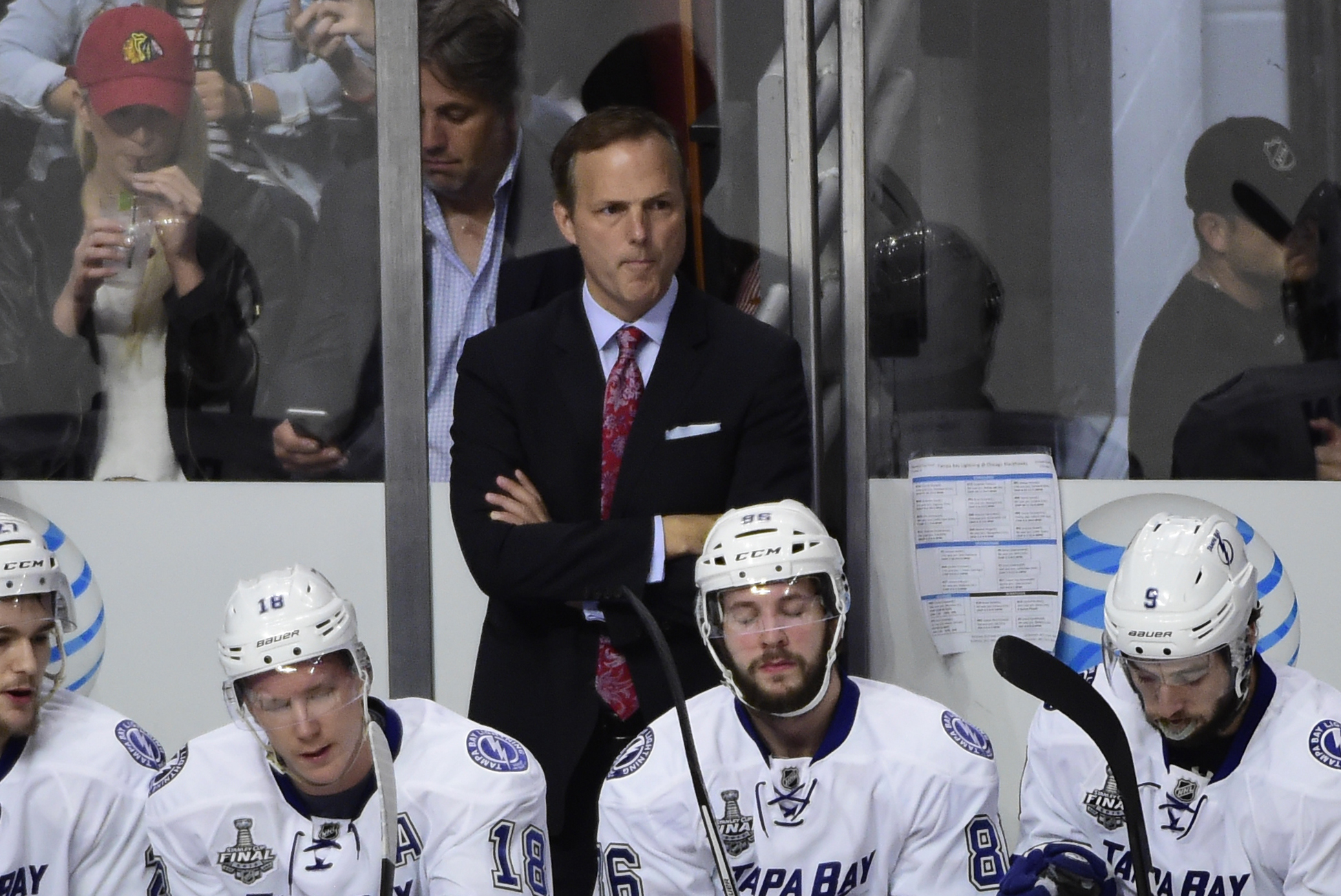 Nominate Jon Cooper as best head coach of a sports team in Tampa Bay.