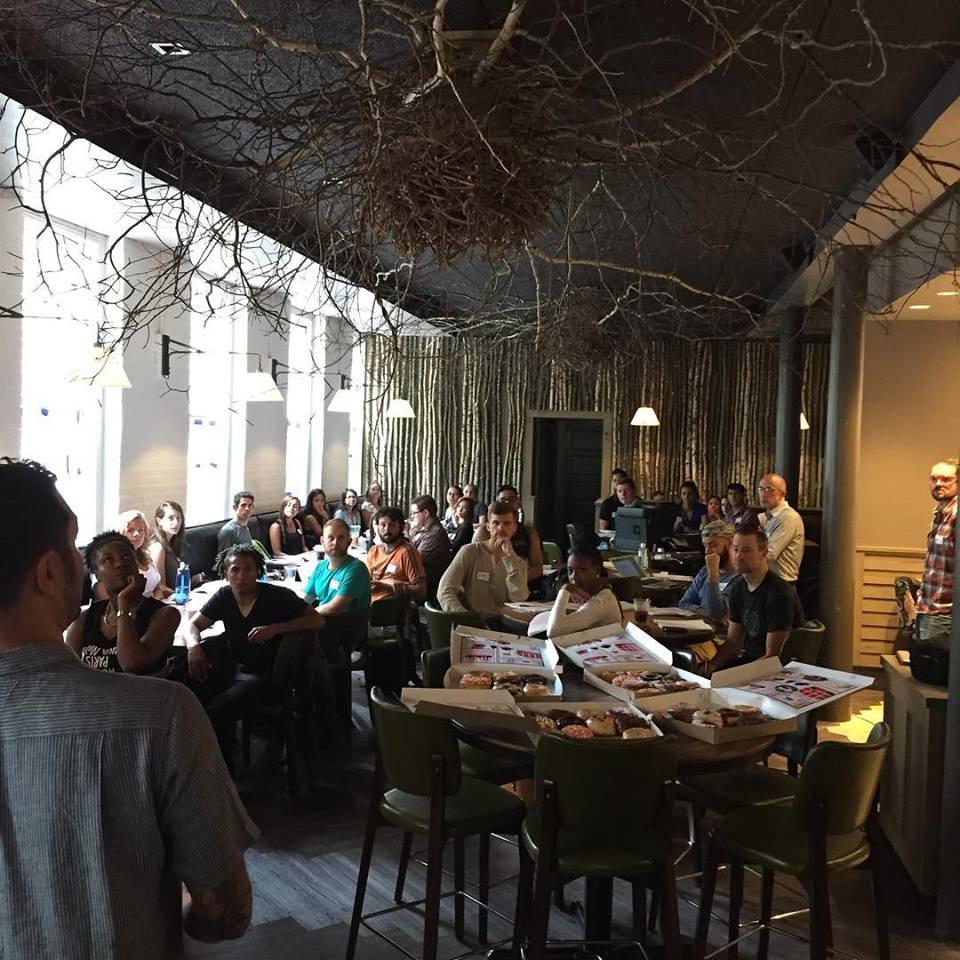 Banyan Bar + Refuge staff training earlier this month
