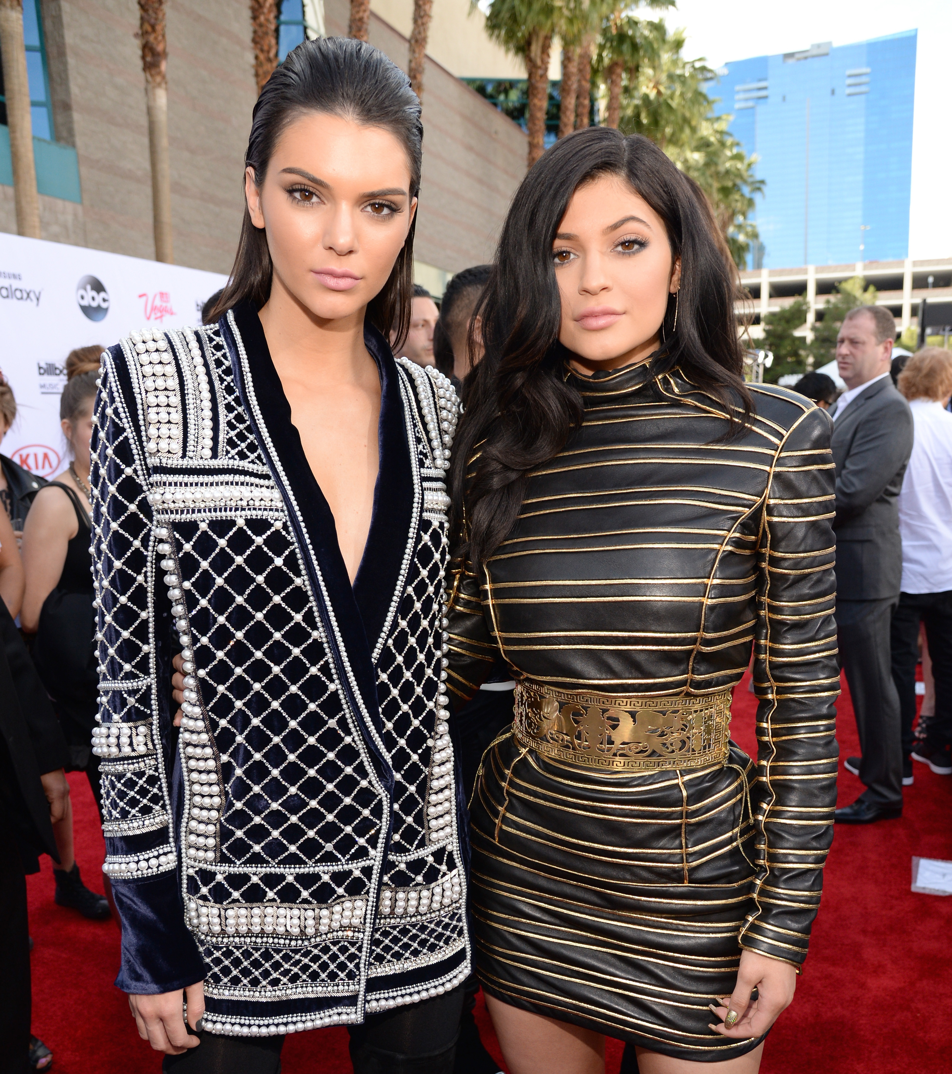 Buy Kylie and kendall jenner balmain fall campaign pictures trends