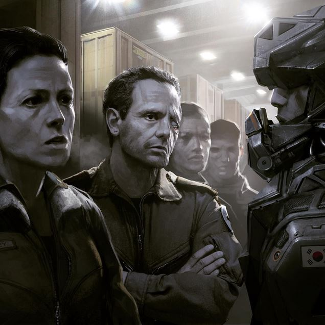 Blomkamp shows new Alien film concept art, says movie is going 'very well'