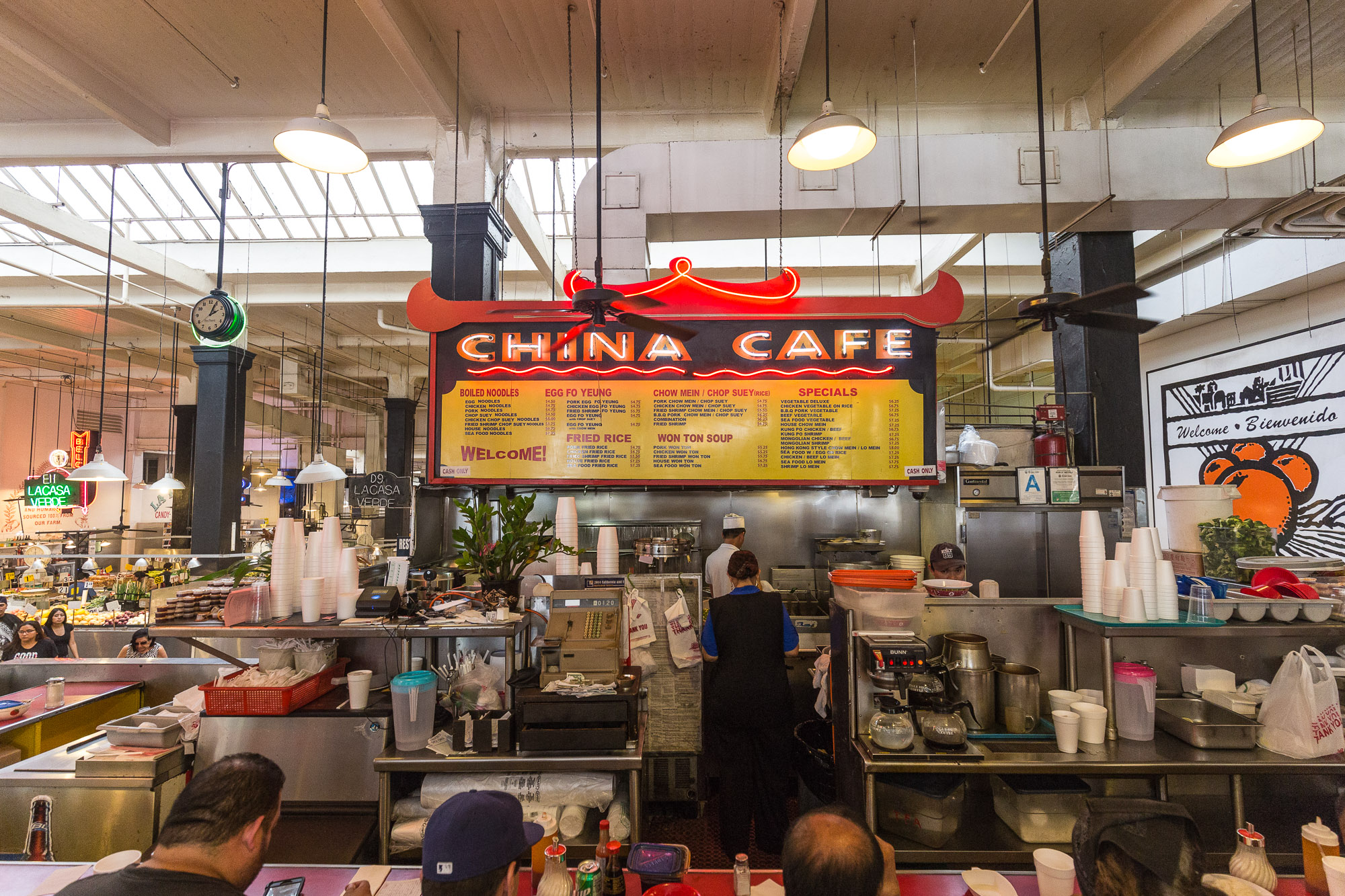 China Cafe, Grand Central Market, Downtown