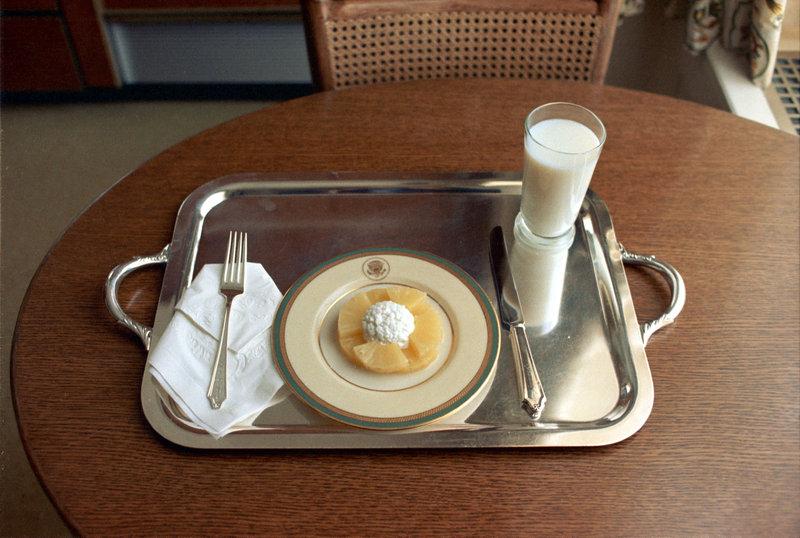 Here's President Richard Nixon's Pathetic Resignation Lunch