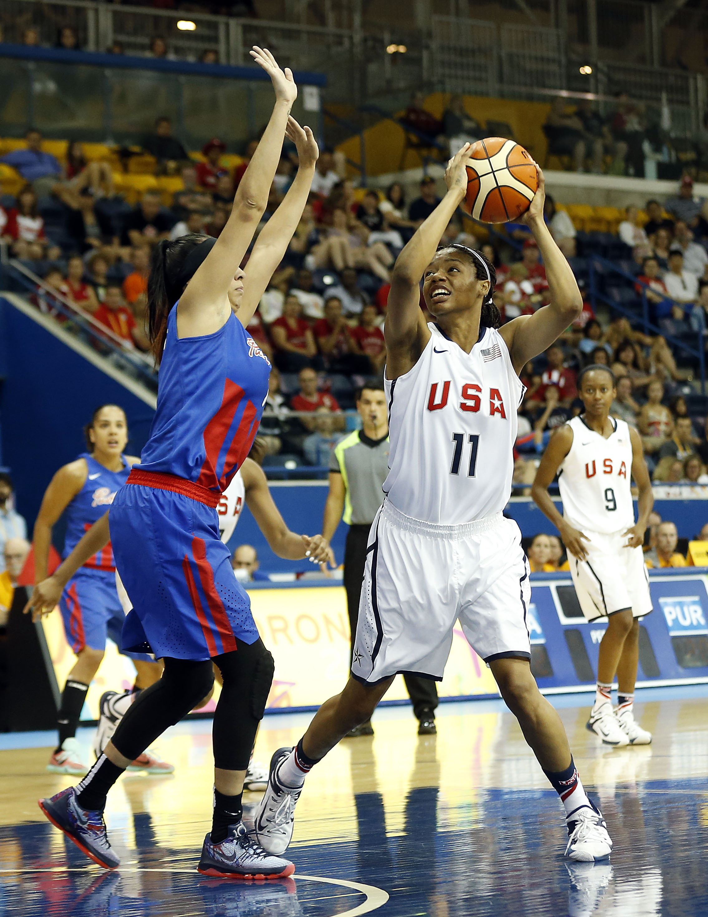 Courtney Williams at the Pan American Games