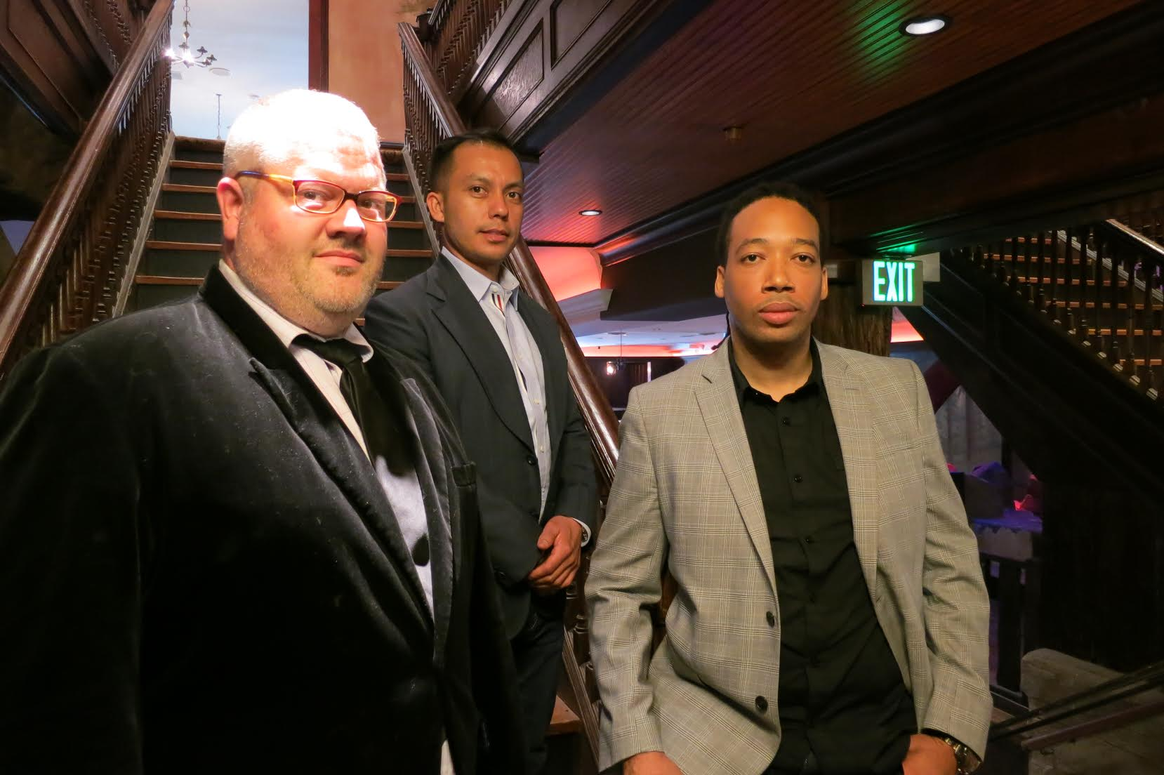 Anuar Pinto Velasco, Damian Windsor, and Jason Fullilove