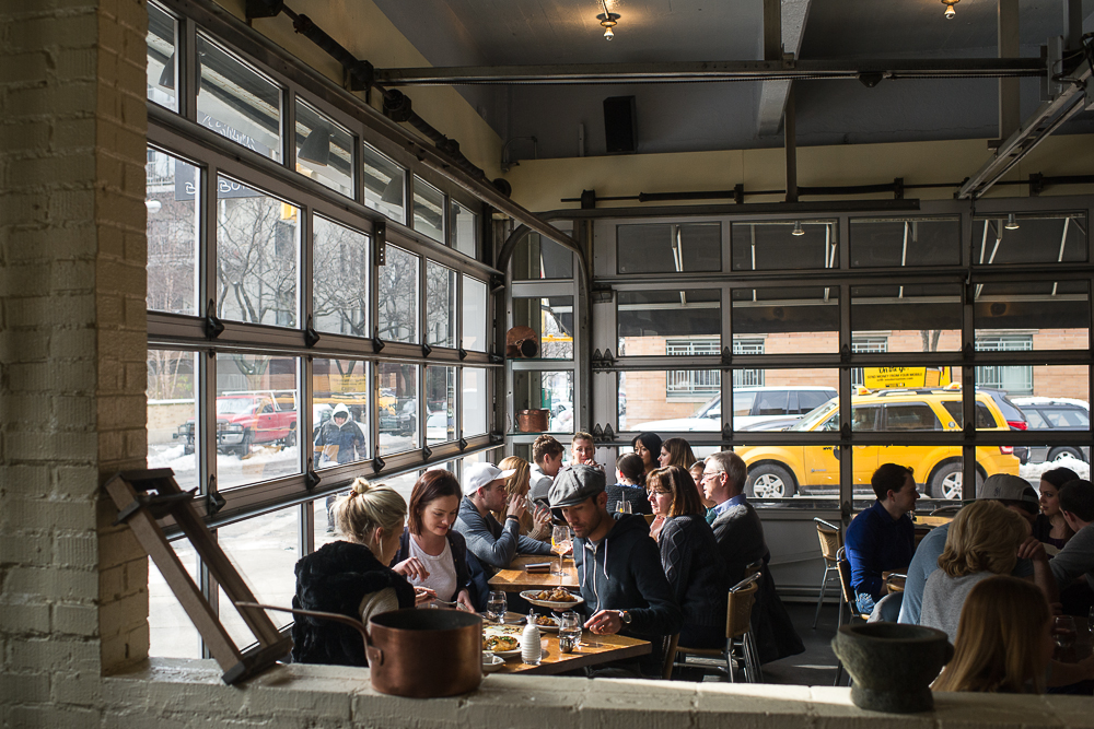 """[Barbuto, a wonderful place to go to lunch or dinner today, especially because <a href=""""http://ny.eater.com/2015/4/1/8326479/barbutos-last-day-is-still-up-in-the-air-jonathan-waxman-promises-to"""">its days are numbered</a>.]"""