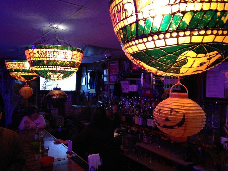 Now-defunct Sangillo's Tavern.