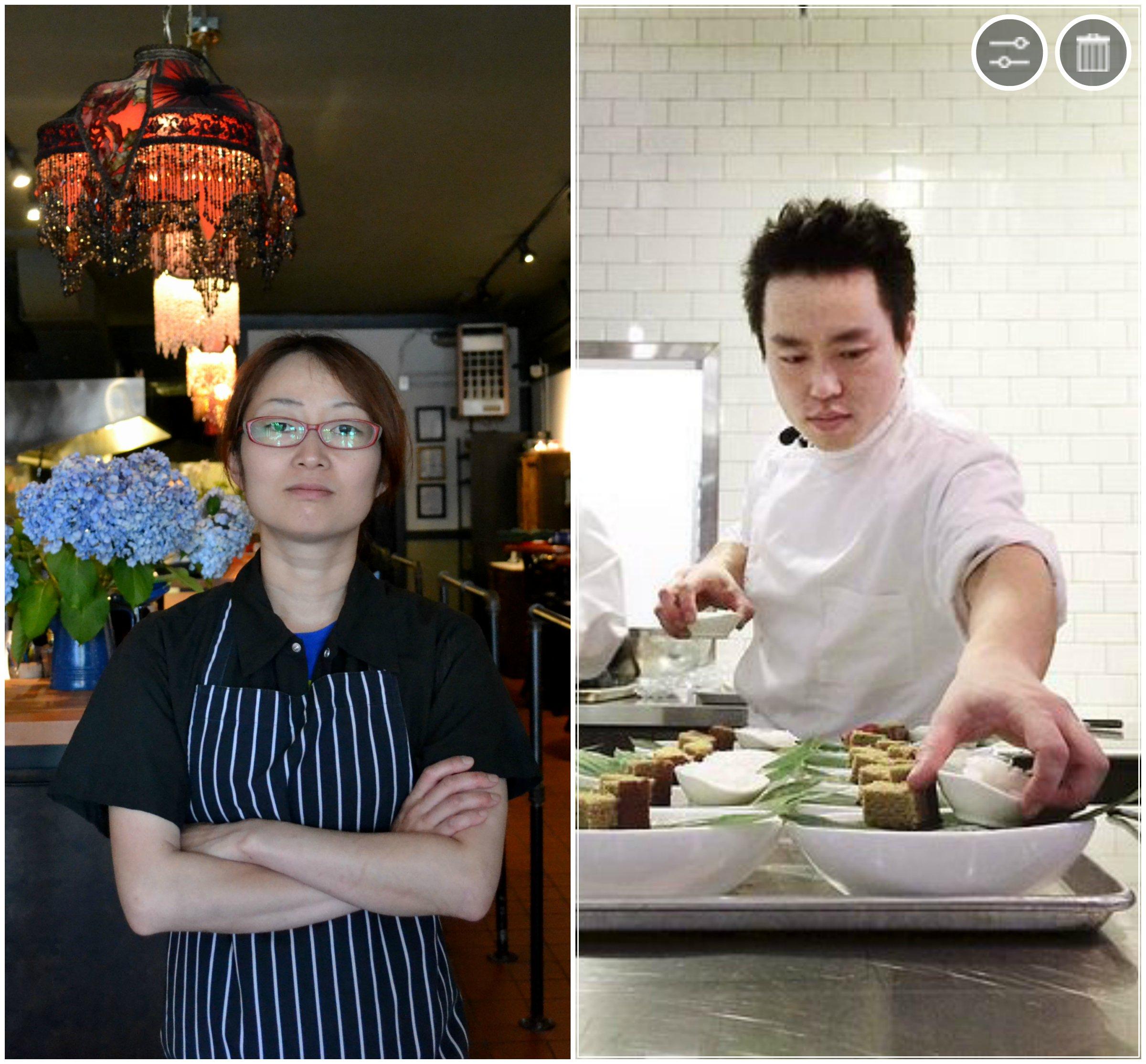 Mutsuko Soma and Hiro Tawara