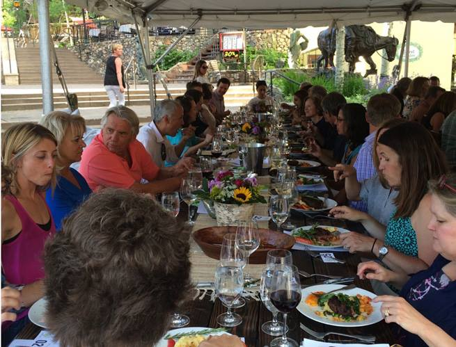 Vail's First Farm-to-Table Dinner
