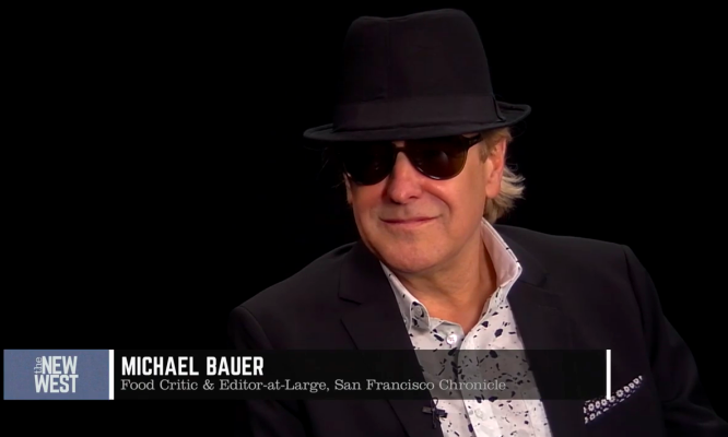 Michael Bauer on The New West with Will Hearst
