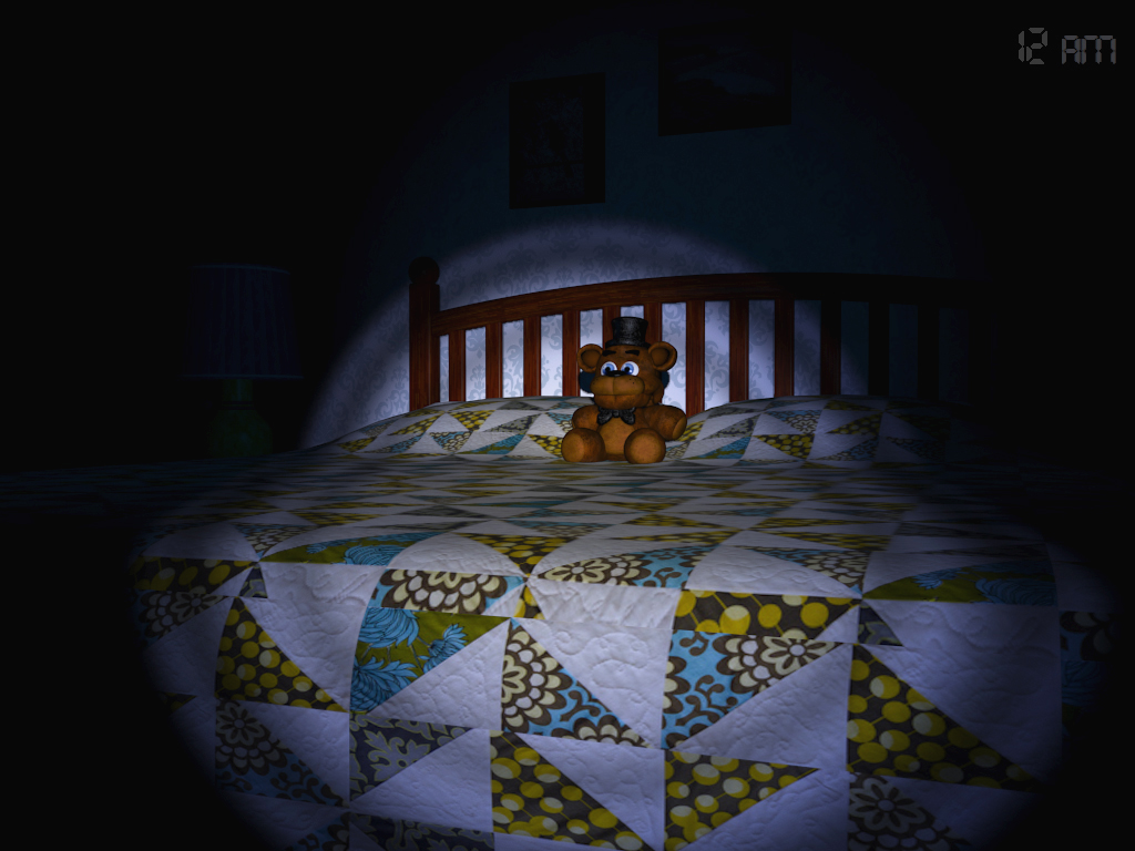 Five Nights at Freddy's 4 surprise-attacks Steam, out now