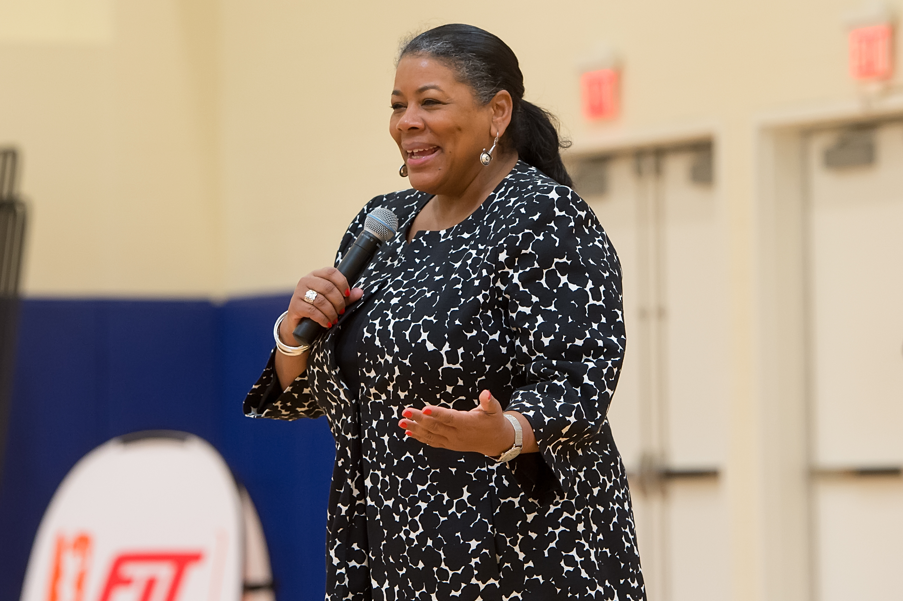 WNBA President Laurel Richie